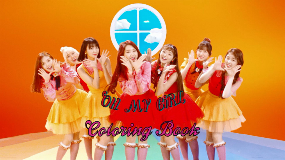 Oh My Girl Coloring Book