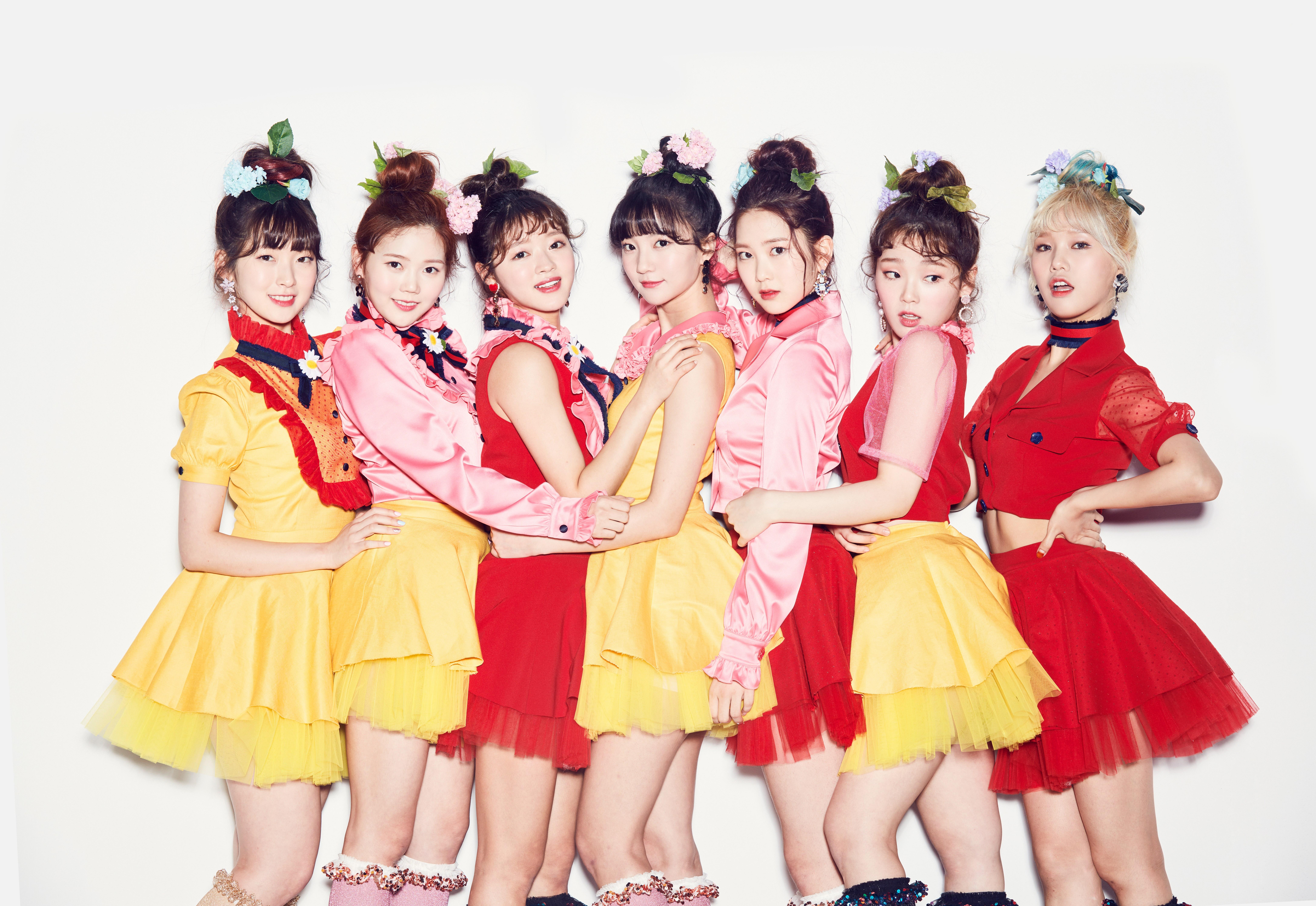 oh my girl profile                k pop database dbkpop com OH My Girl Coloring Book Live Outfit  Coloring Book Oh My Girl Mp3