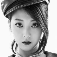CLC Black Dress Seungyeon
