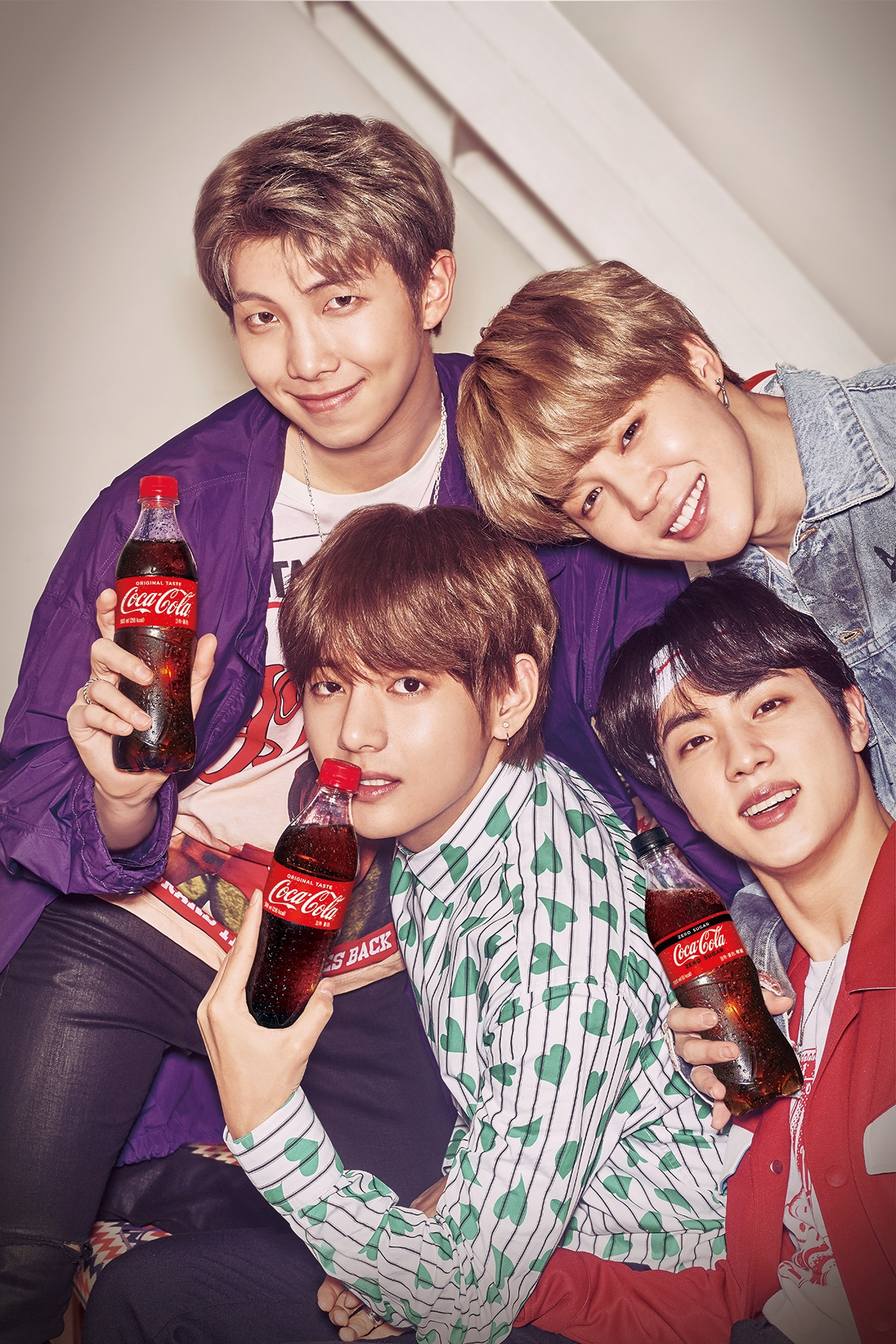 BTS – Coca Cola Russia 2018 World Cup Images