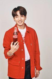 BTS Jungkook Coca Cola