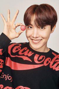 BTS J-Hope Coca Cola