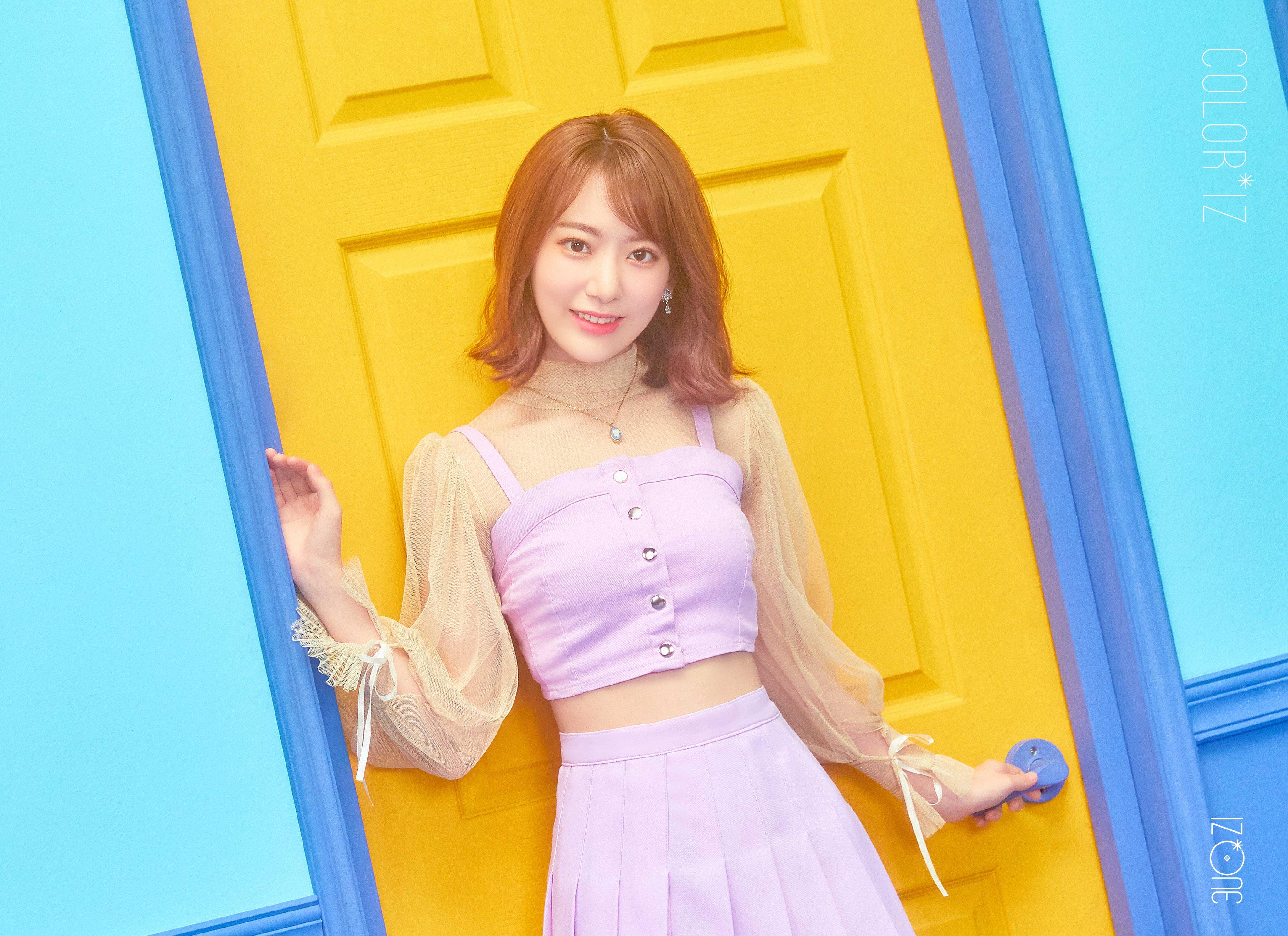 IZ*ONE - COLOR*IZ Official Photos - K-Pop Database / dbkpop com