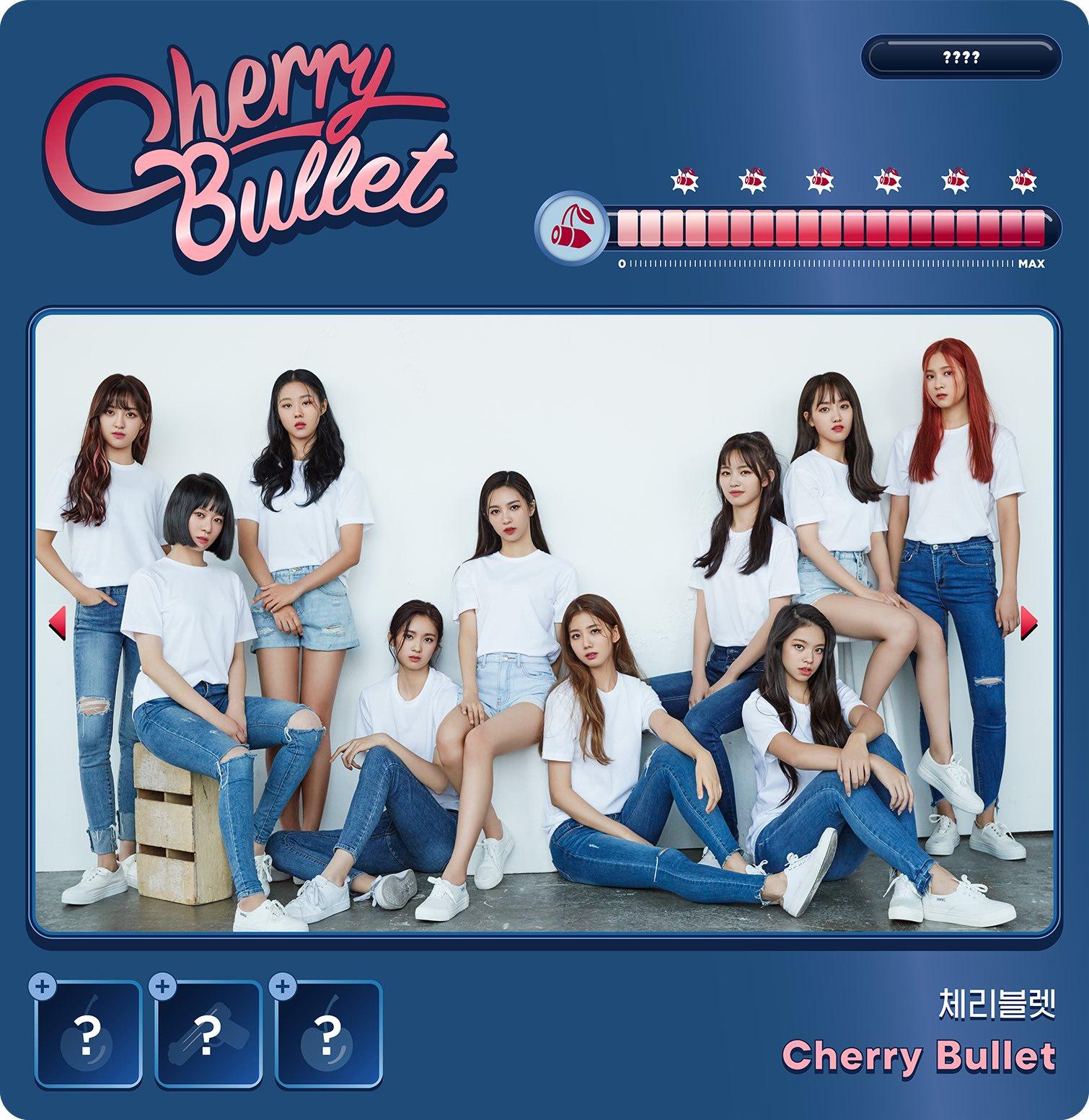 Cherry Bullet Members Profile K Pop Database Dbkpop Com Elas debutaram em 21 de janeiro de 2019 com seu primeiro single álbum let's play cherry bullet, junto a faixa título q&a. cherry bullet members profile k pop