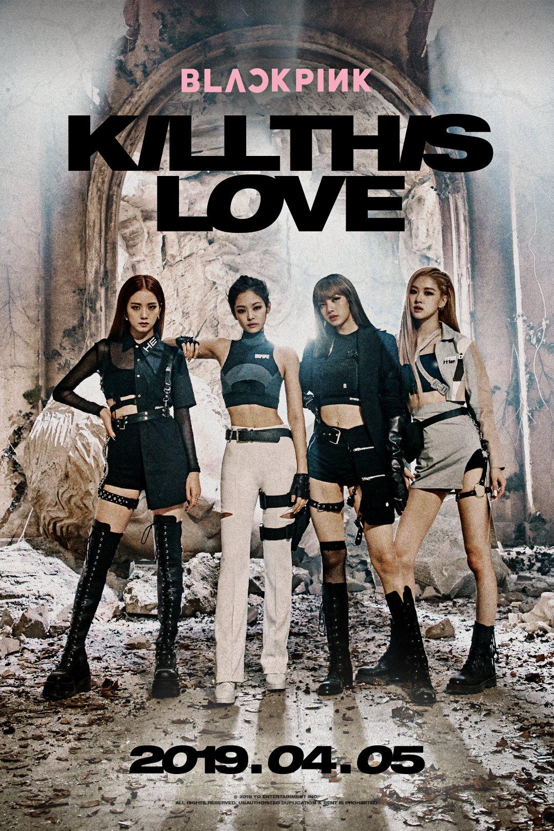 Blackpink – Kill This Love Teasers (Rose, Jisoo)