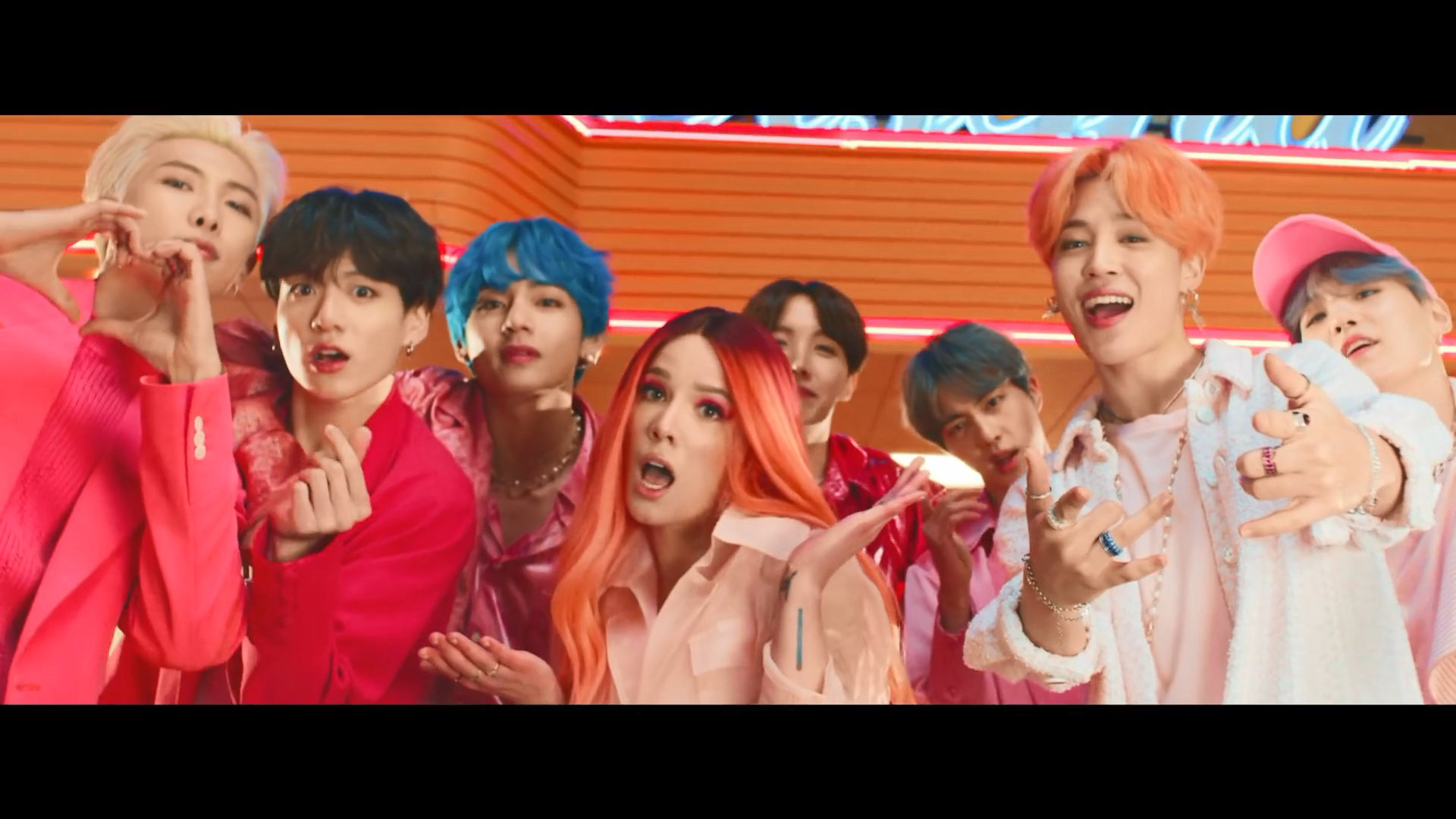 BTS Boy With Luv who's who