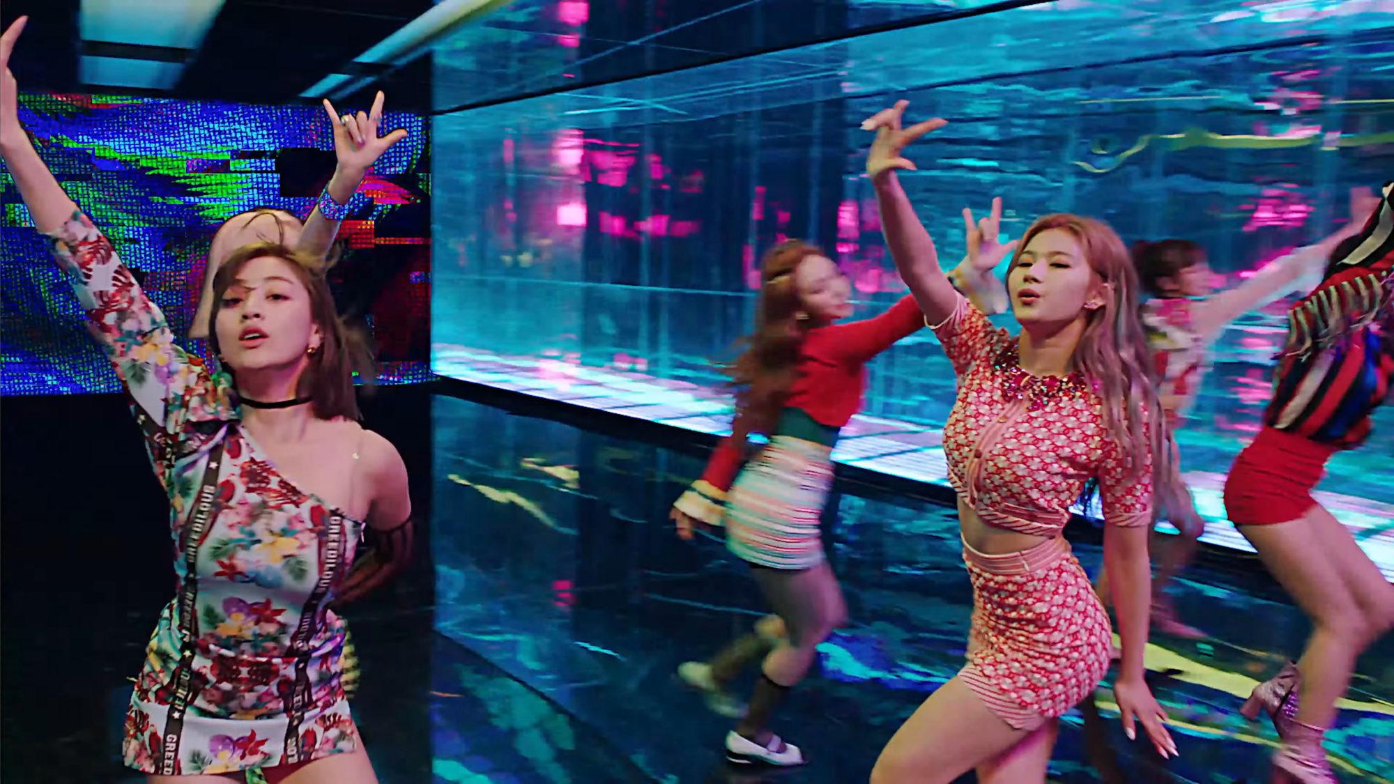Twice Fancy Jihyo Sana Post Hook Teaser
