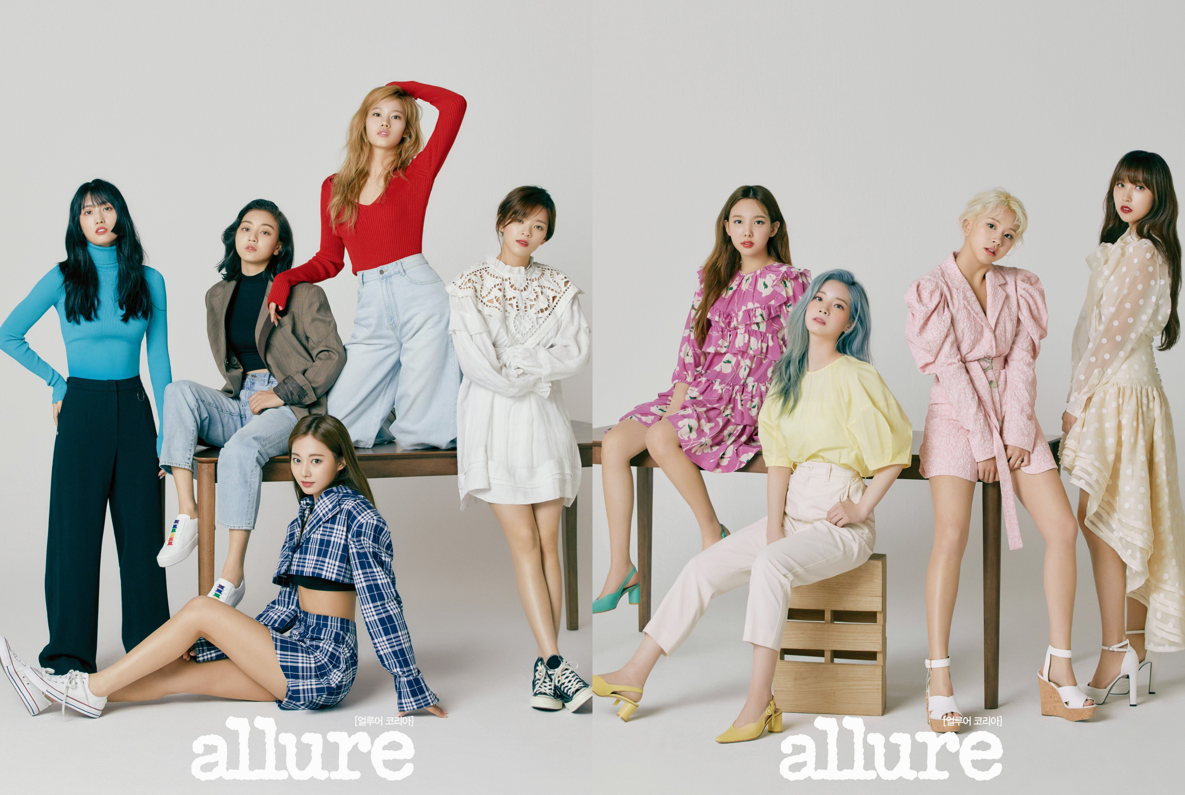Twice for Allure May 2019