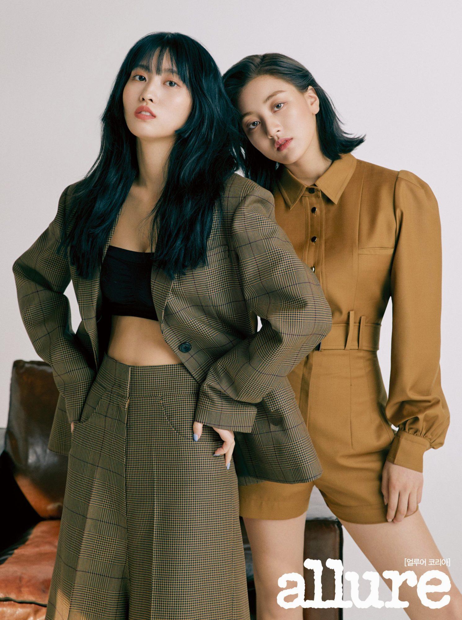 Twice Momo Jihyo Allure 2019
