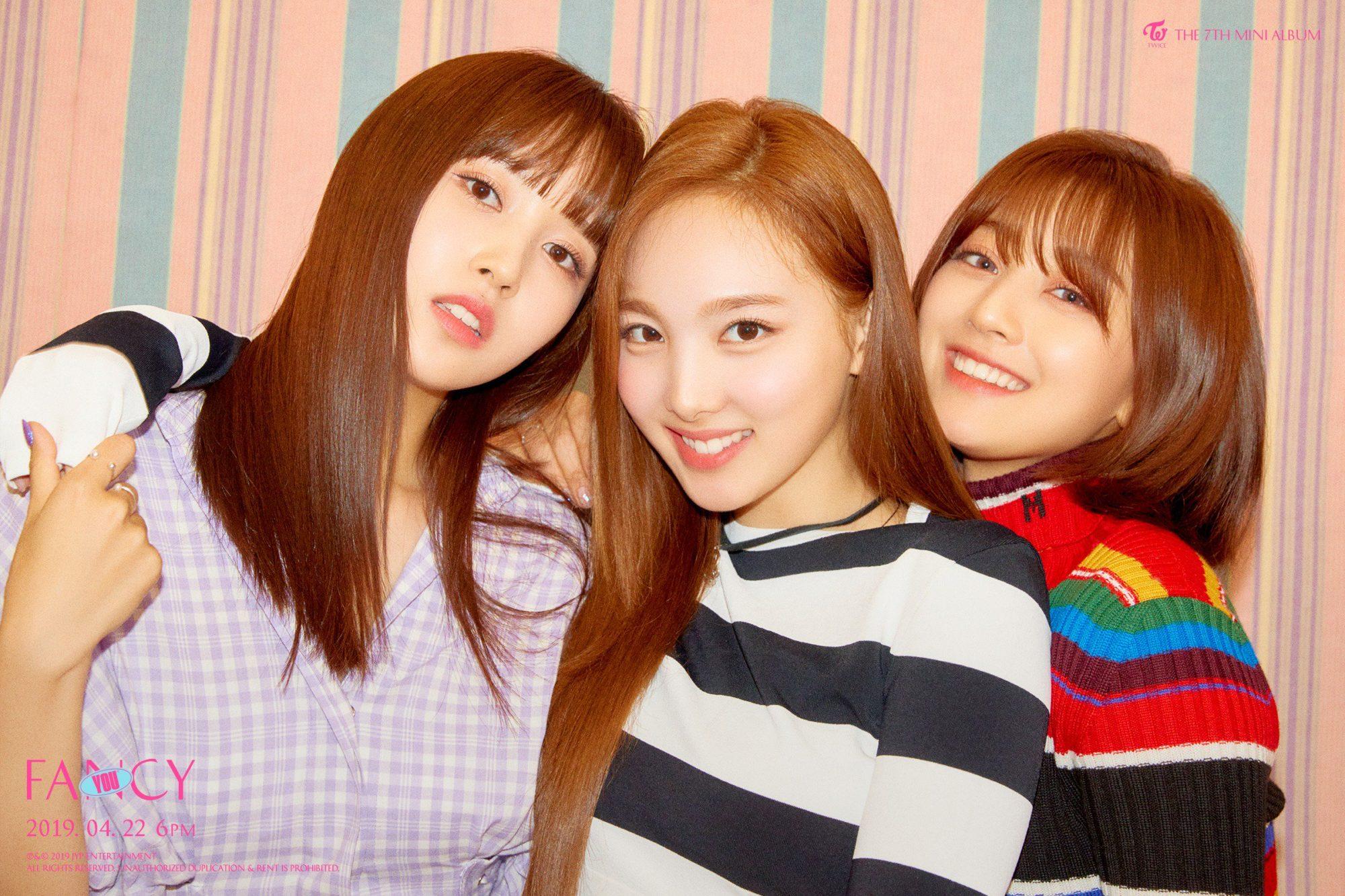 Twice Fancy You Mina Nayeon Jihyo