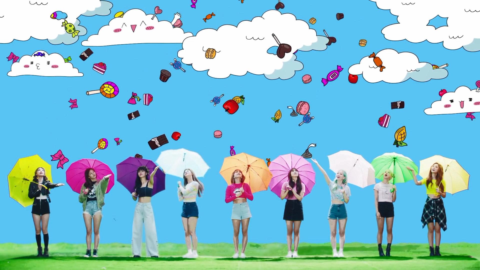 Twice Happy Happy / Breakthrough Teaser Video Screencaps