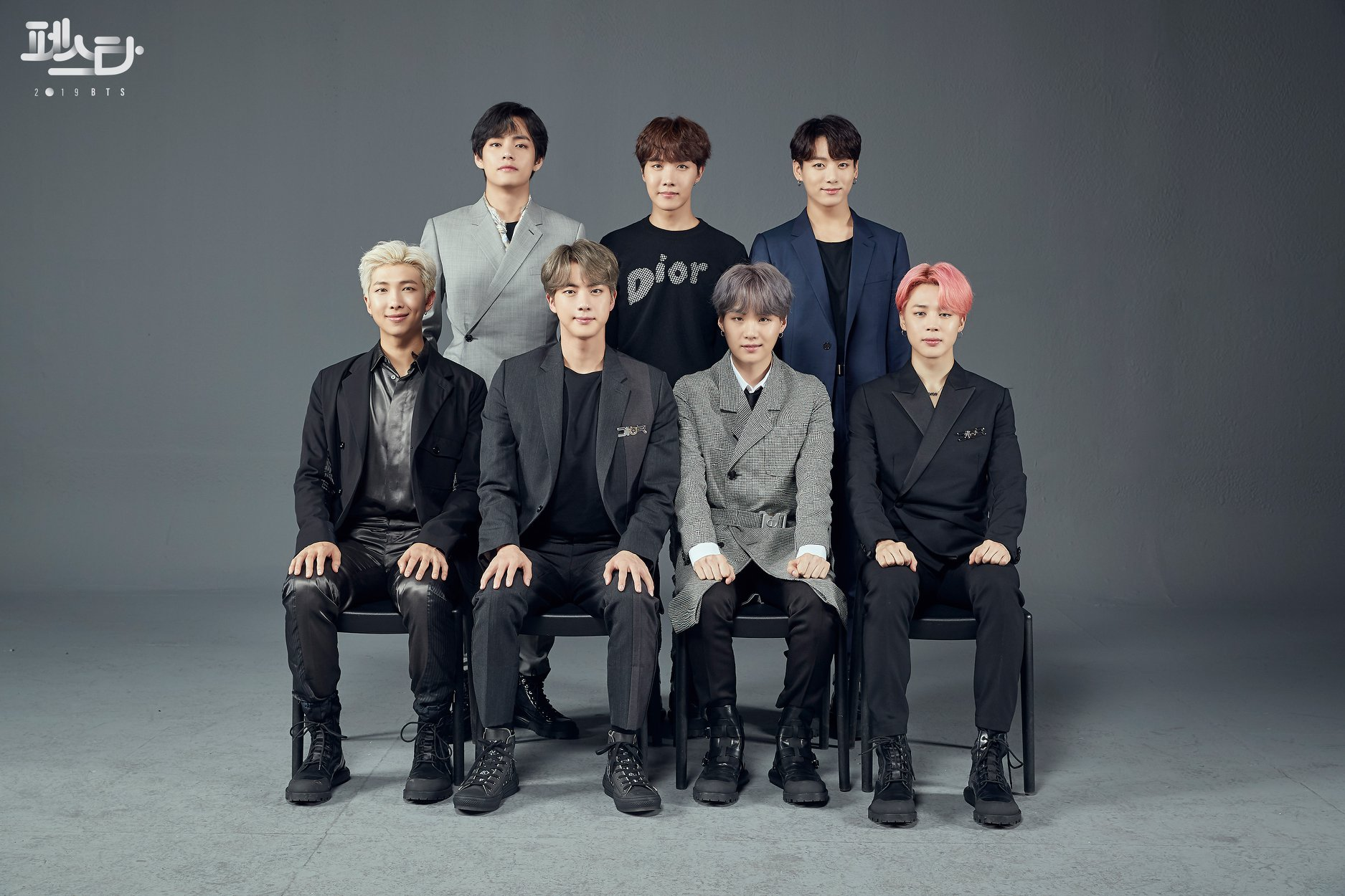 BTS Festa 2019 Family Portrait Photos #2