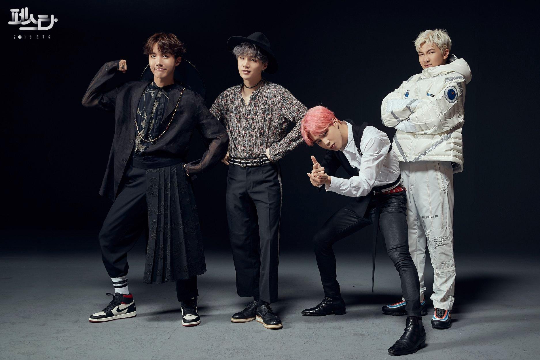 BTS Festa 2019 J-hope Suga Jimin RM