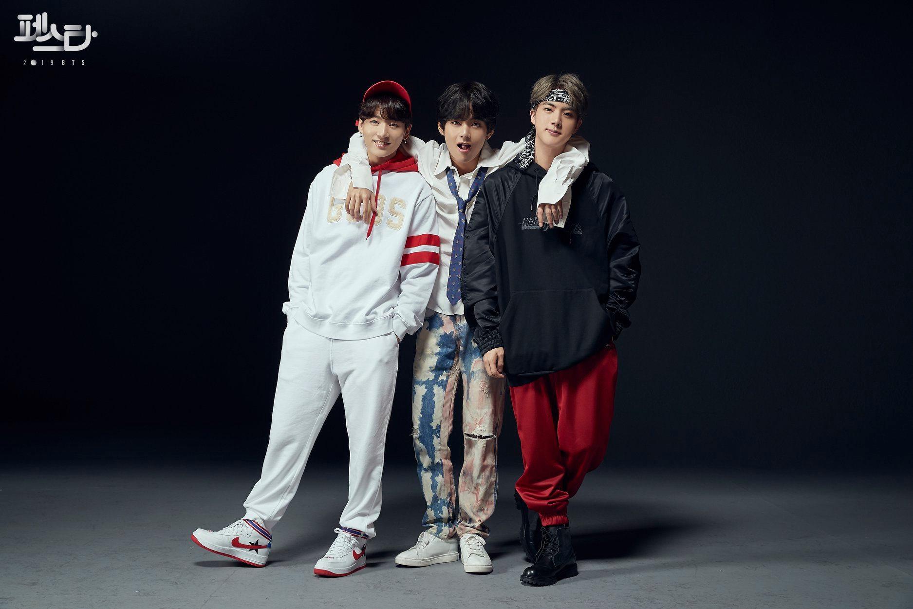 BTS Festa 2019 Jungkook V Jin