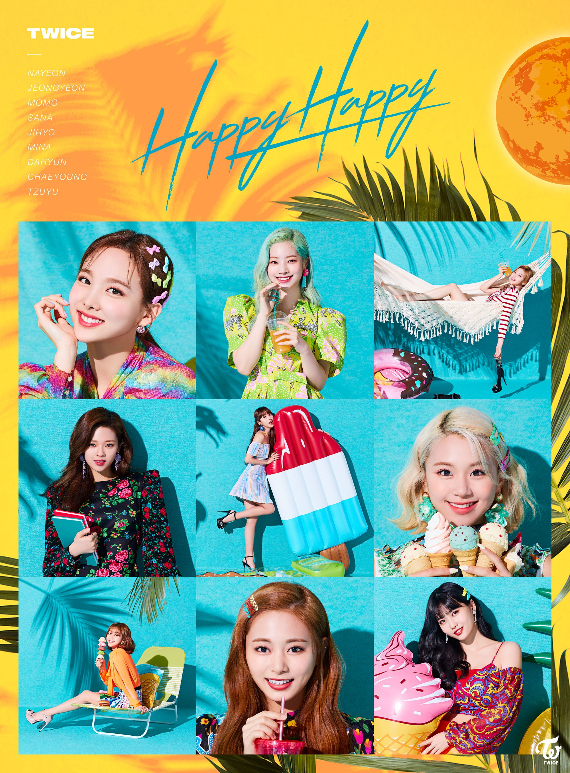 Twice Happy Happy Cover