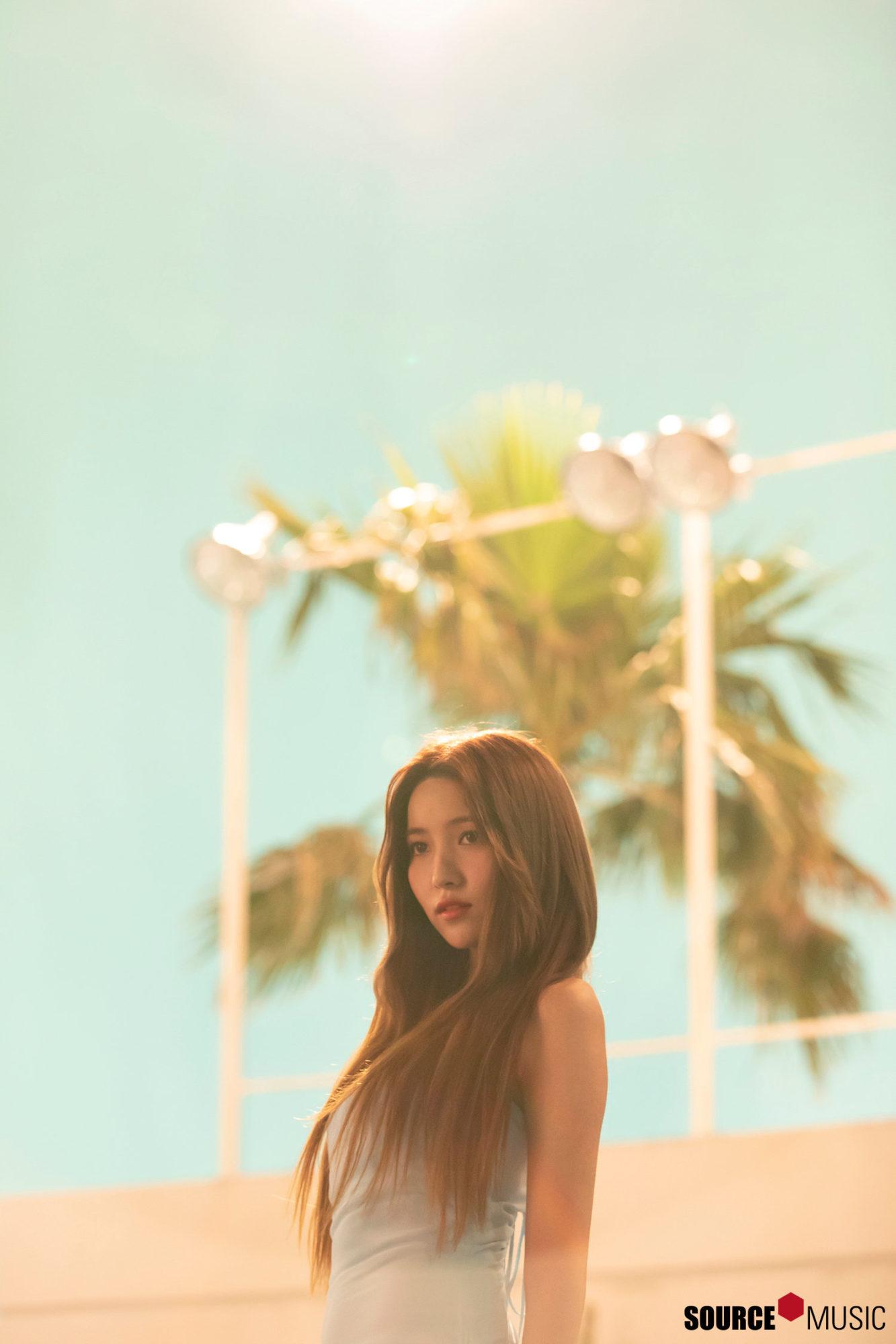 GFRIEND Fever Sowon MV Backstage HD