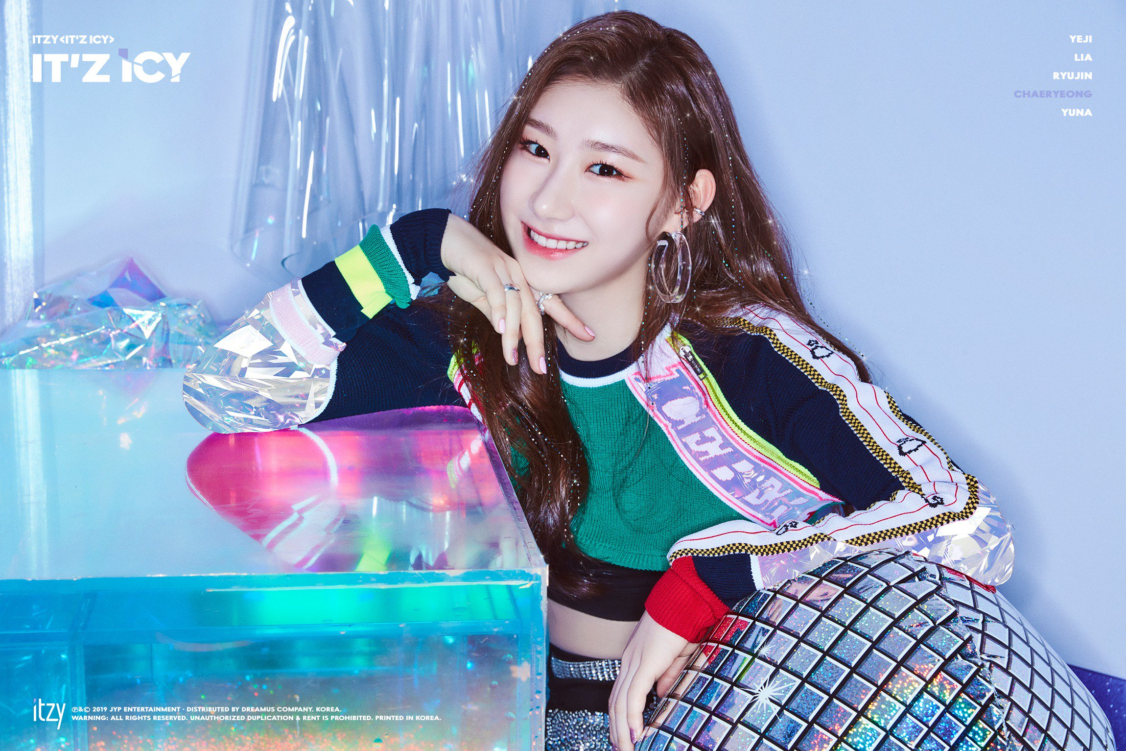 Itzy It Z Icy Chaeryeong Teaser Photos K Pop Database
