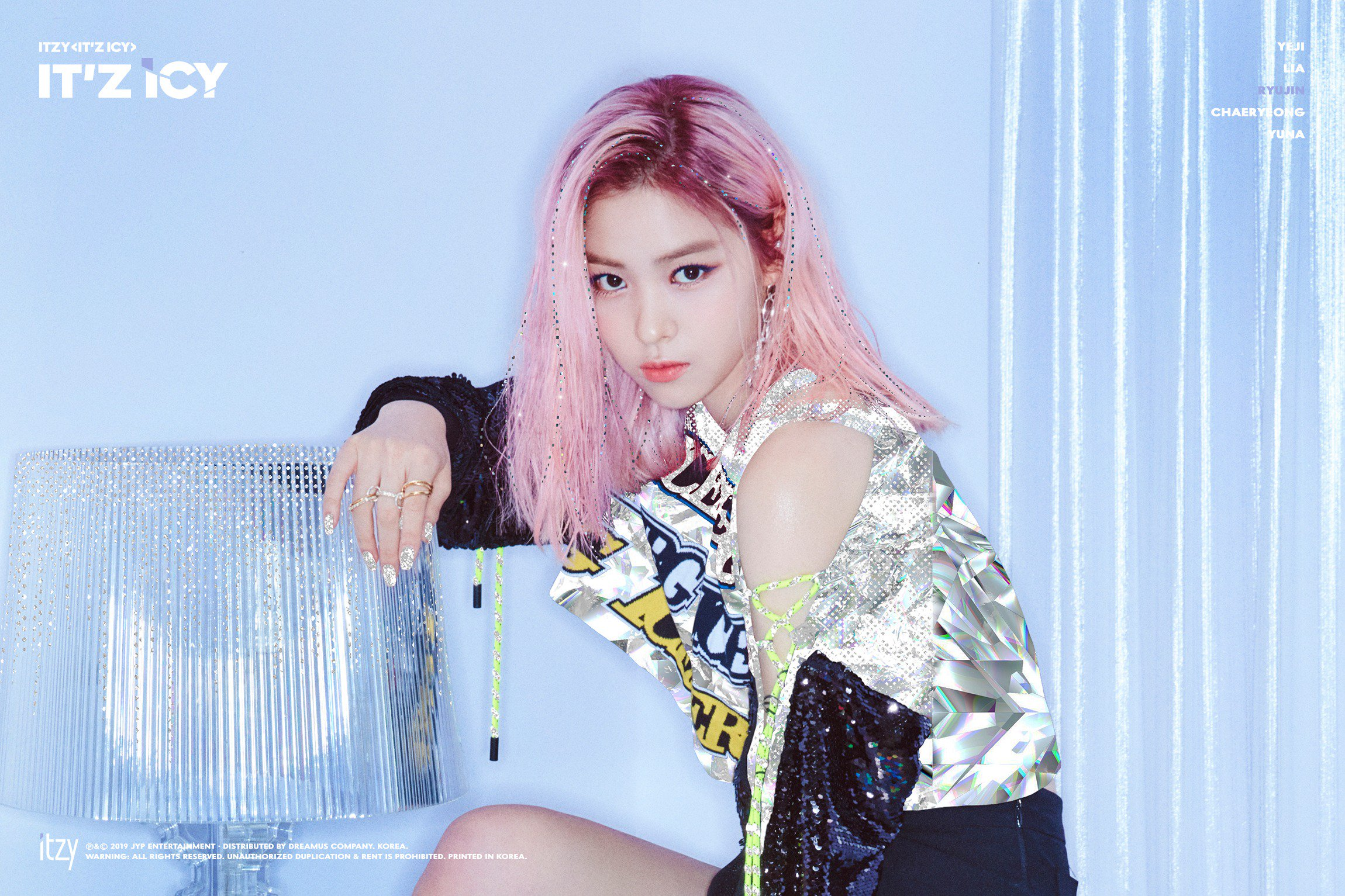 Itzy It Z Icy Ryujin Teaser Photos K Pop Database Dbkpop Com