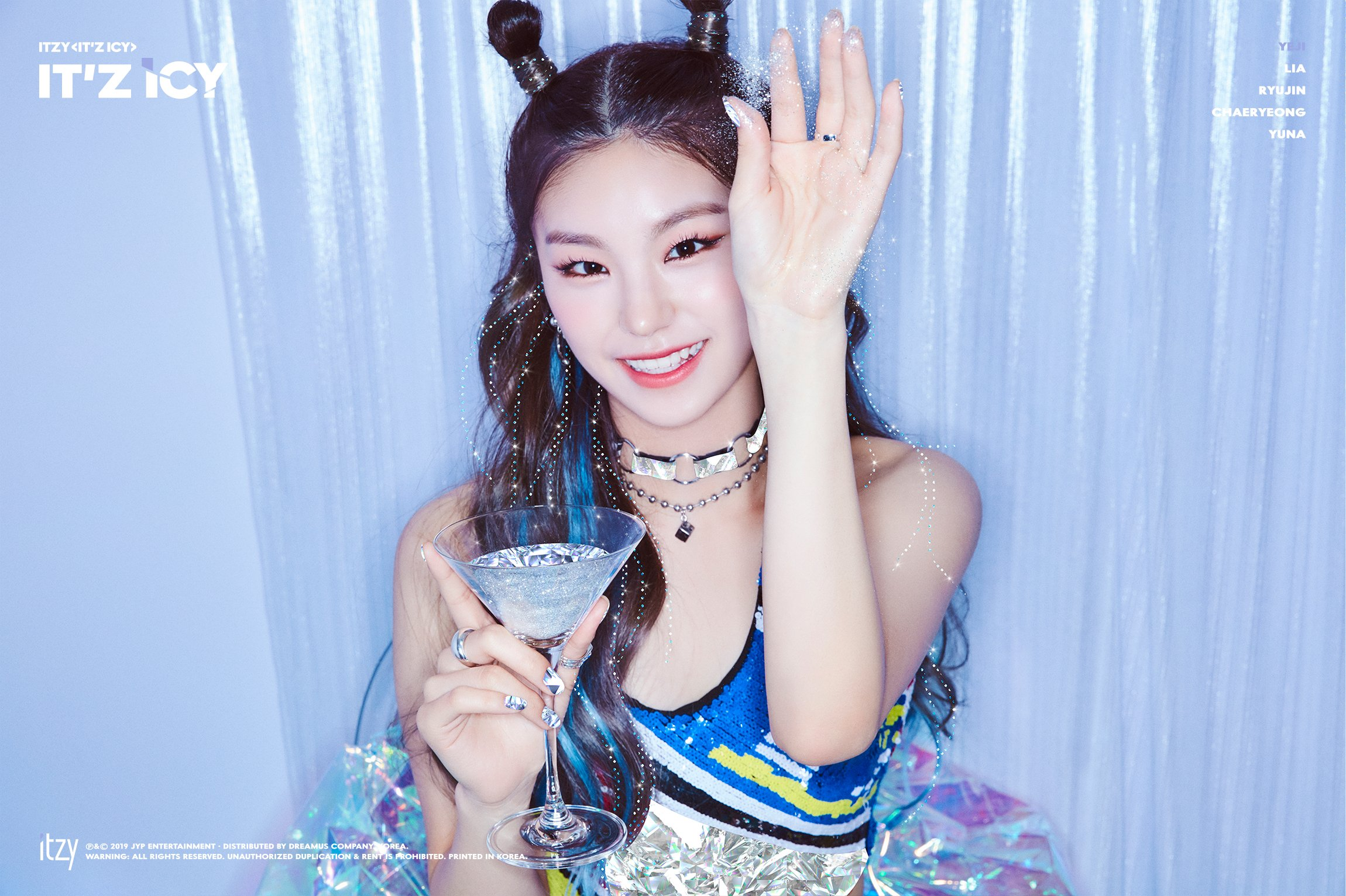 ITZY It'z Icy Yeji Teaser Photos - K-Pop Database / dbkpop com