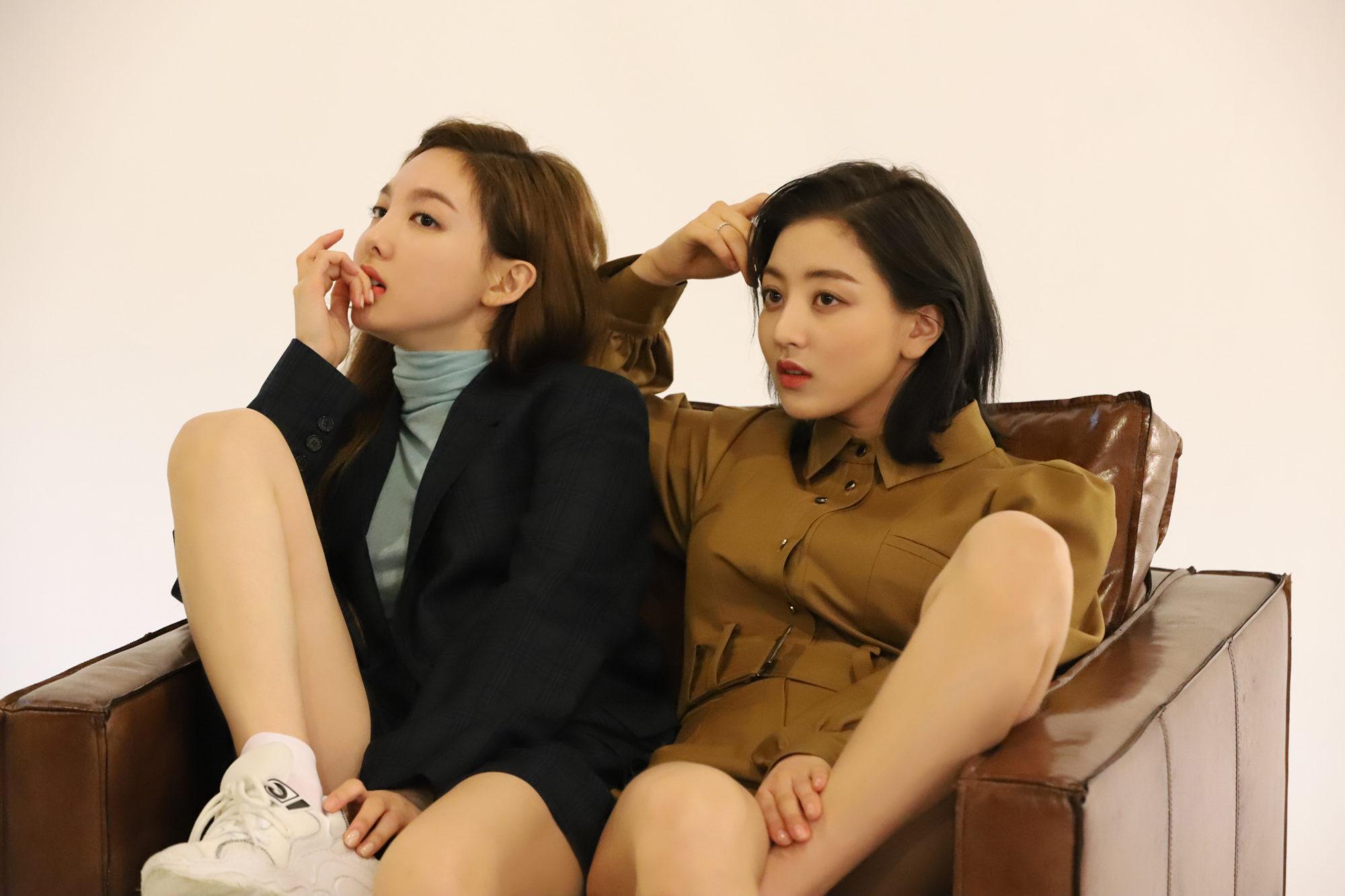 Twice Allure Nayeon Jihyo 2019 HD