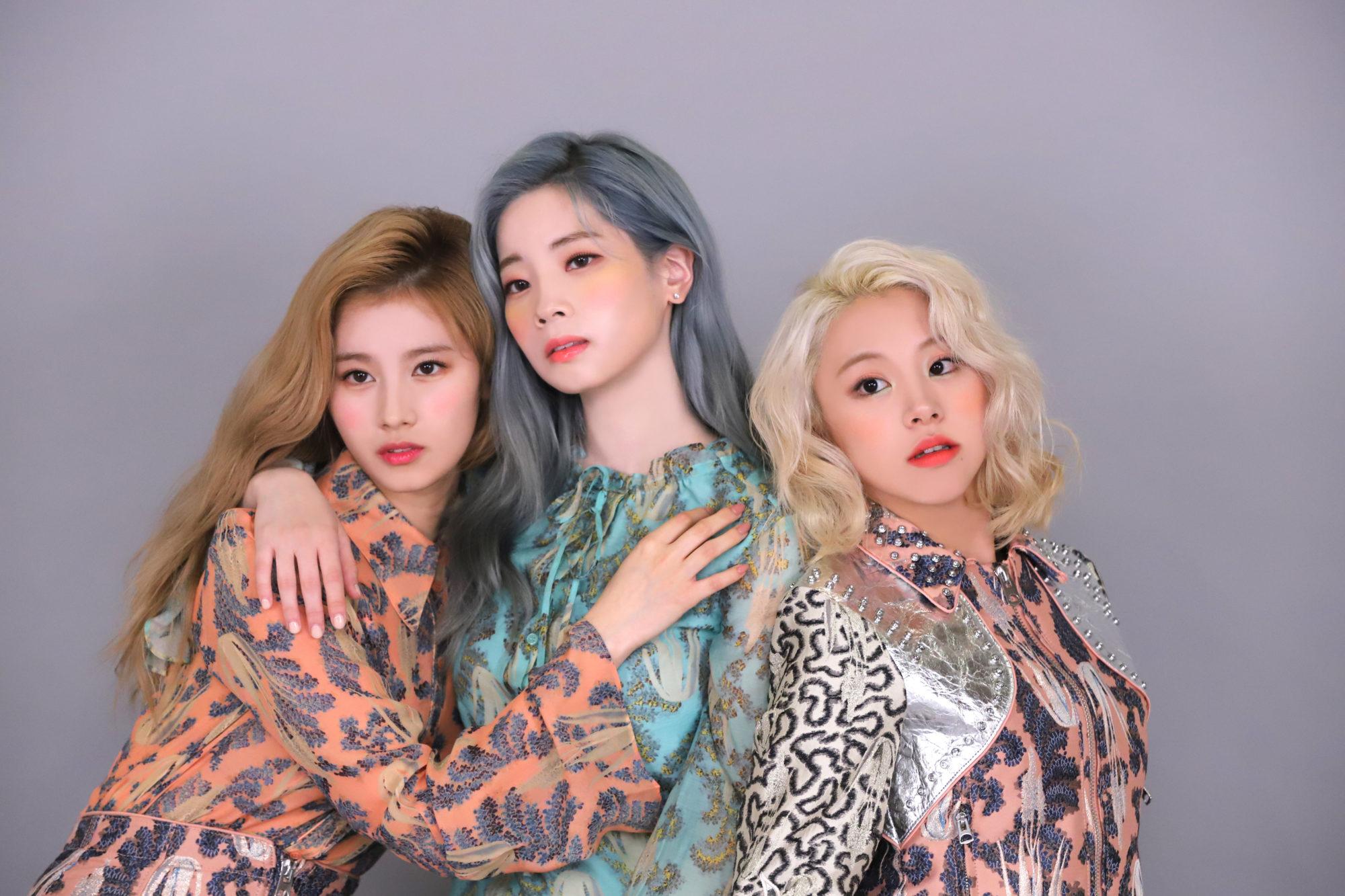 Twice Allure Sana Dahyun Chaeyoung 2019 HD