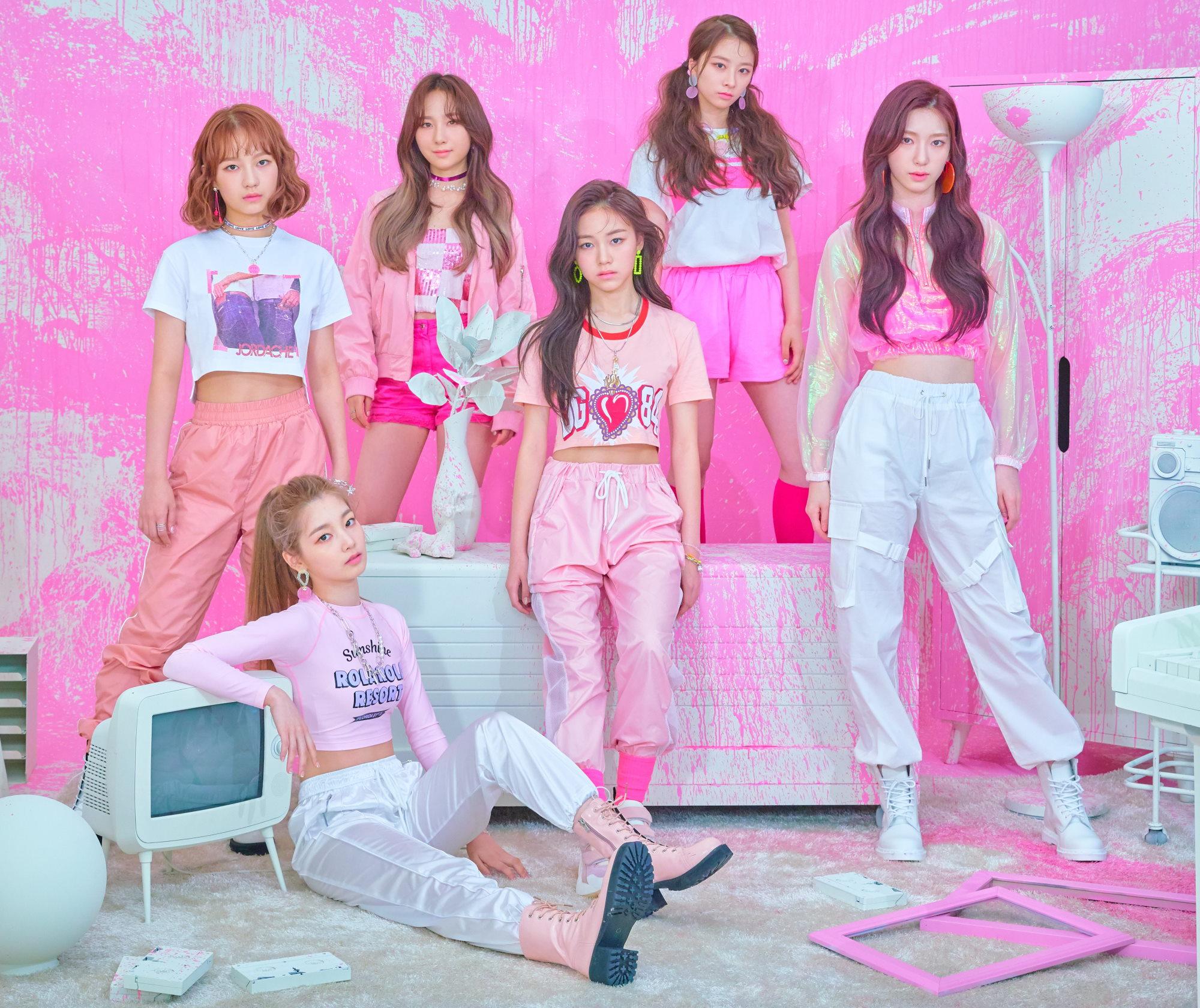 Rocket Punch Members Profile K Pop Database Dbkpopcom