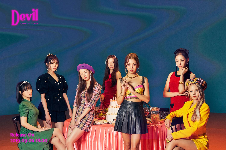 CLC Devil Teaser / Concept Photos 1&2 (HD) - K-Pop Database
