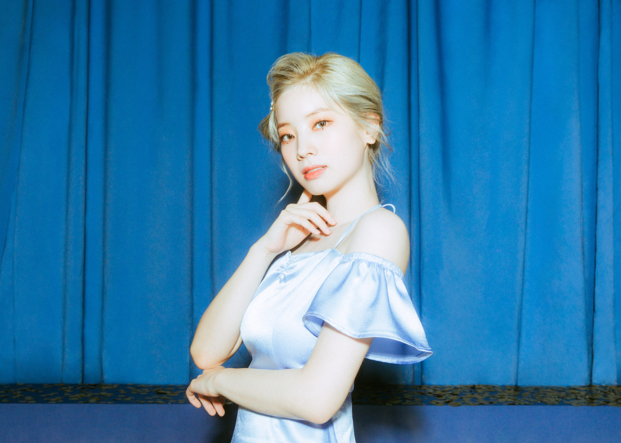 Twice Feel Special Blue Concept Dahyun