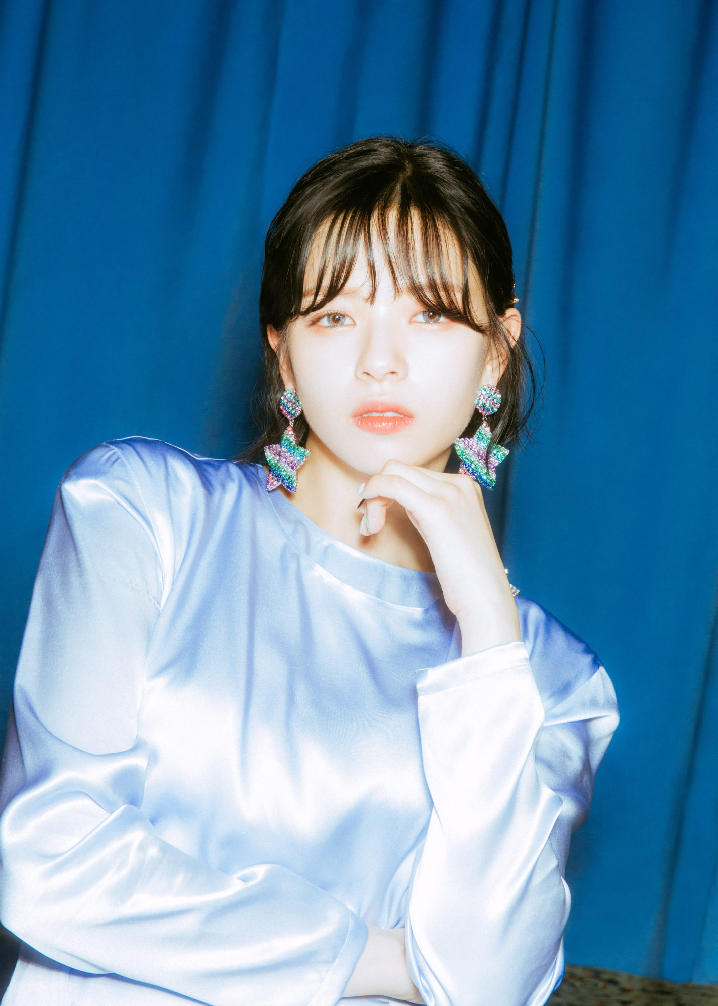 Twice Feel Special Blue Concept Jeongyeon