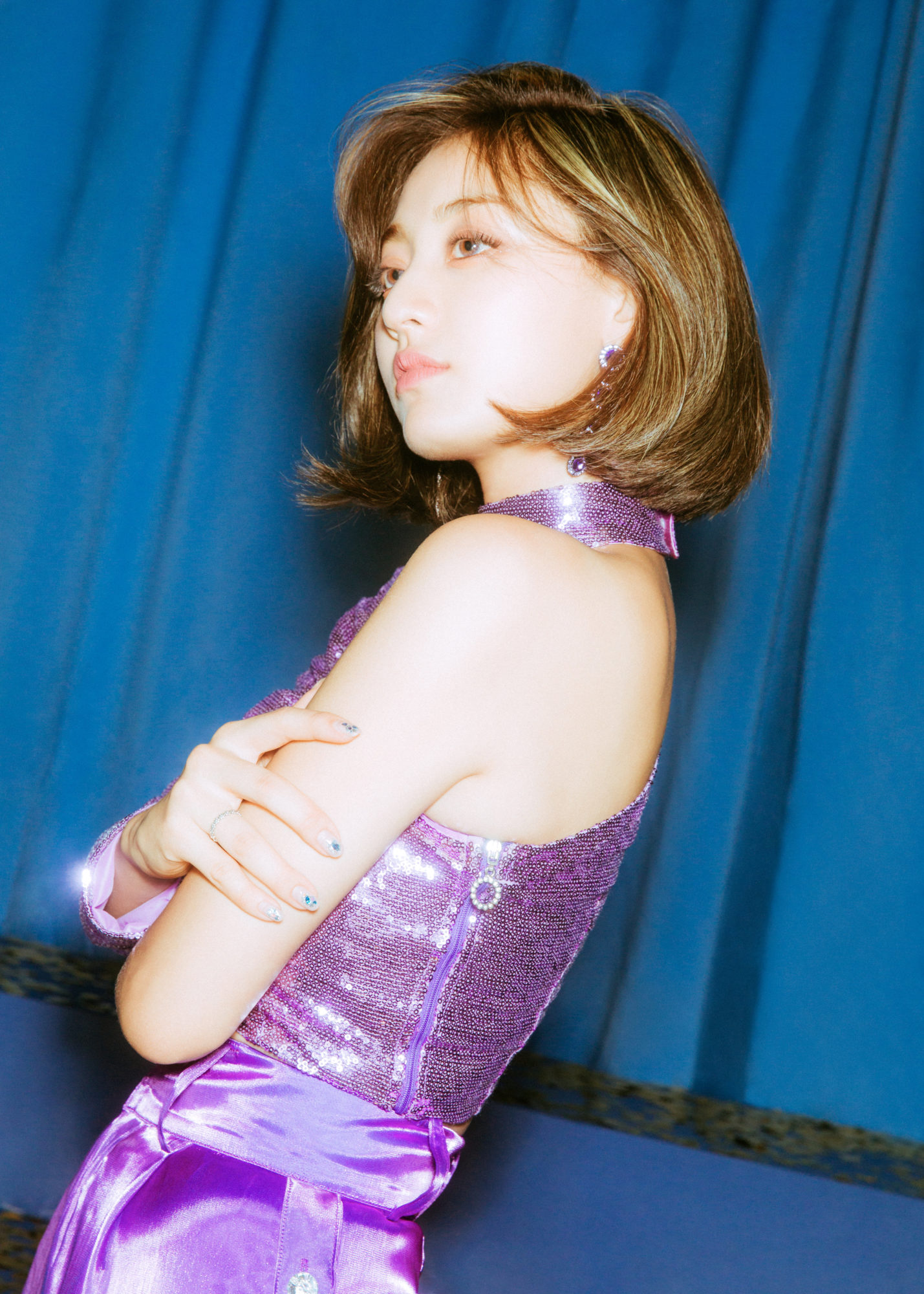 Twice Feel Special Blue Concept Jihyo