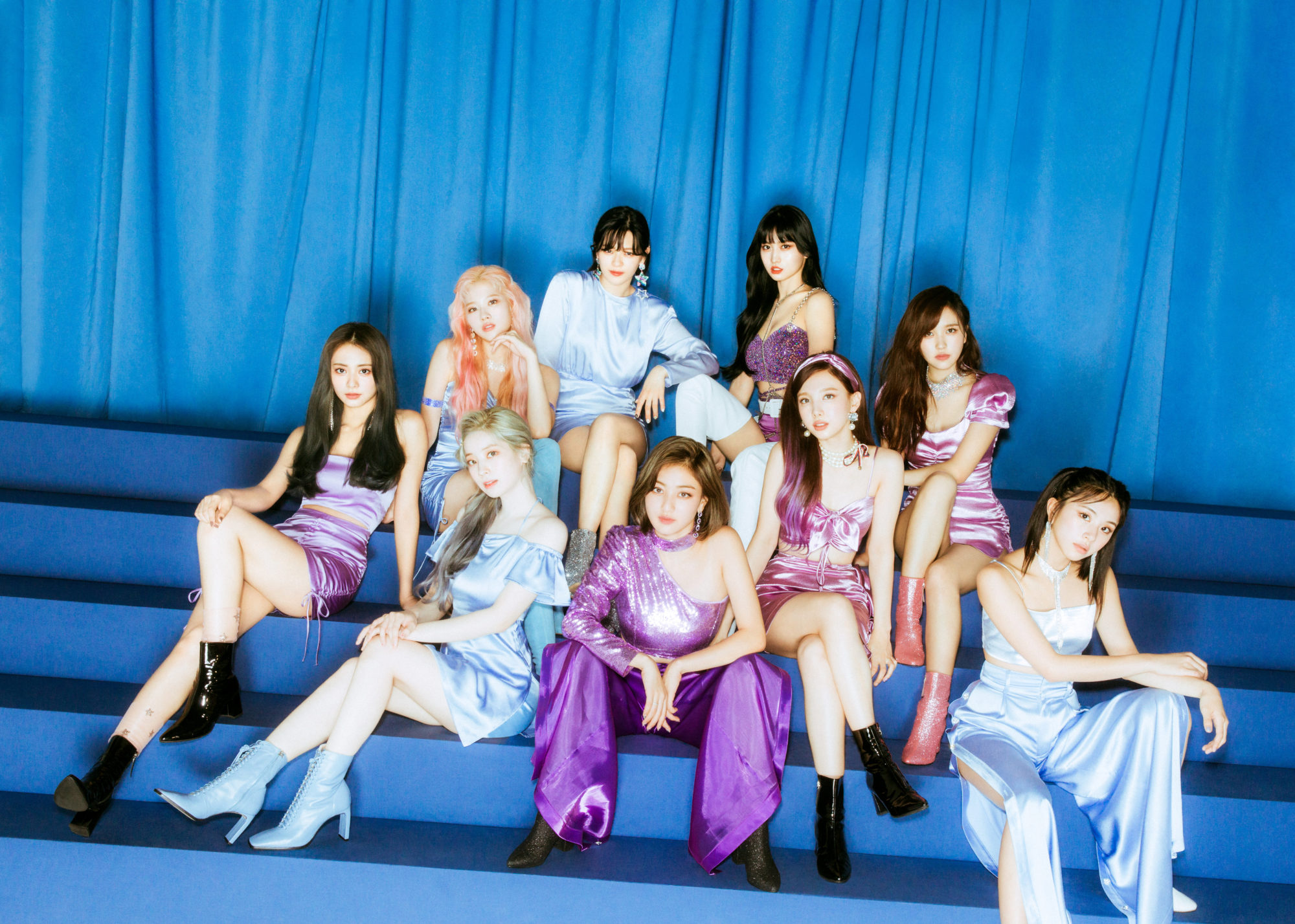 Twice Feel Special Blue Concept