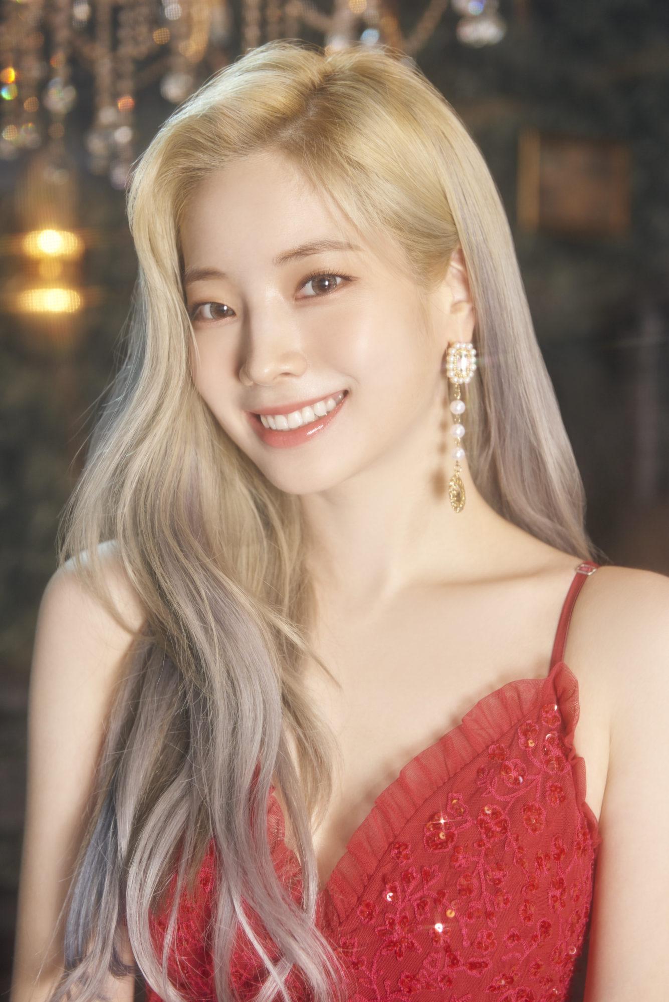 Twice Dahyun Feel Special Concept Gold Elegant