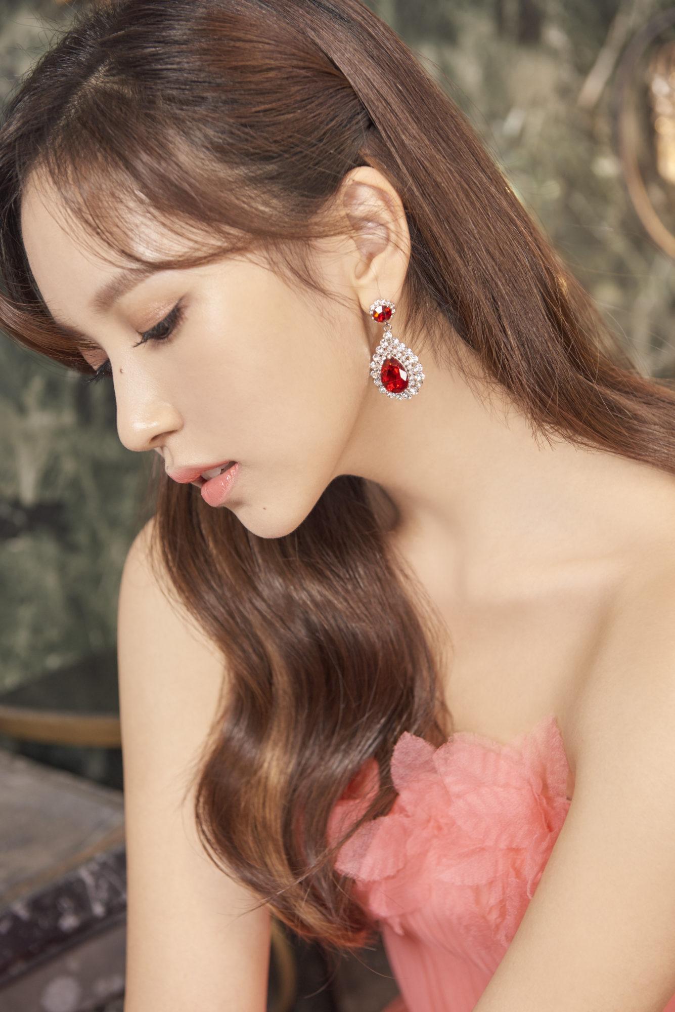 Twice Mina Feel Special Concept Gold Elegant