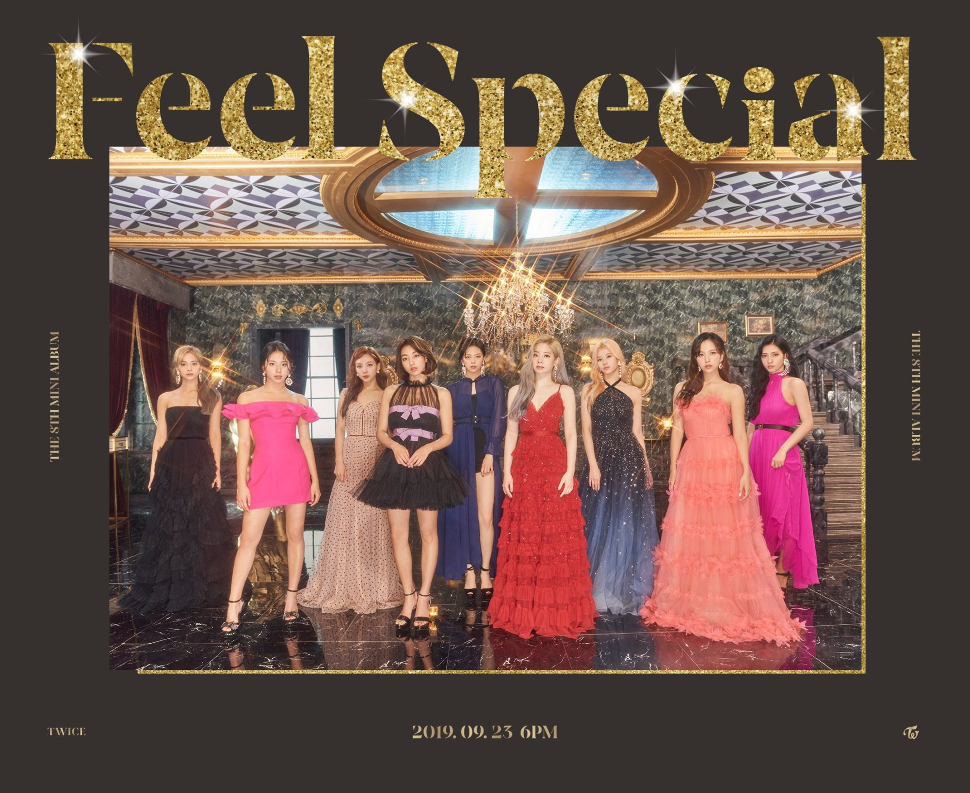 Twice Feel Special Teaser Gold