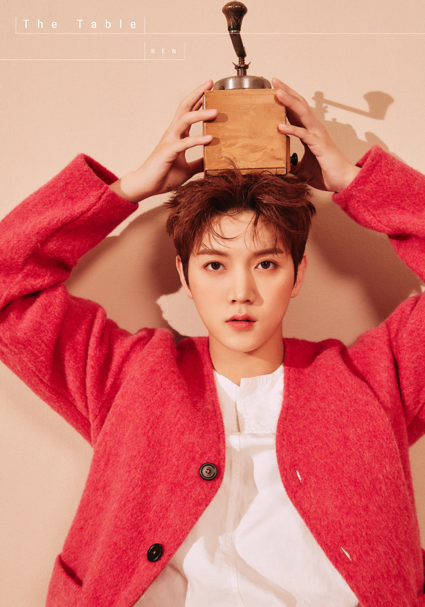 NU'EST Ren The Table Concept