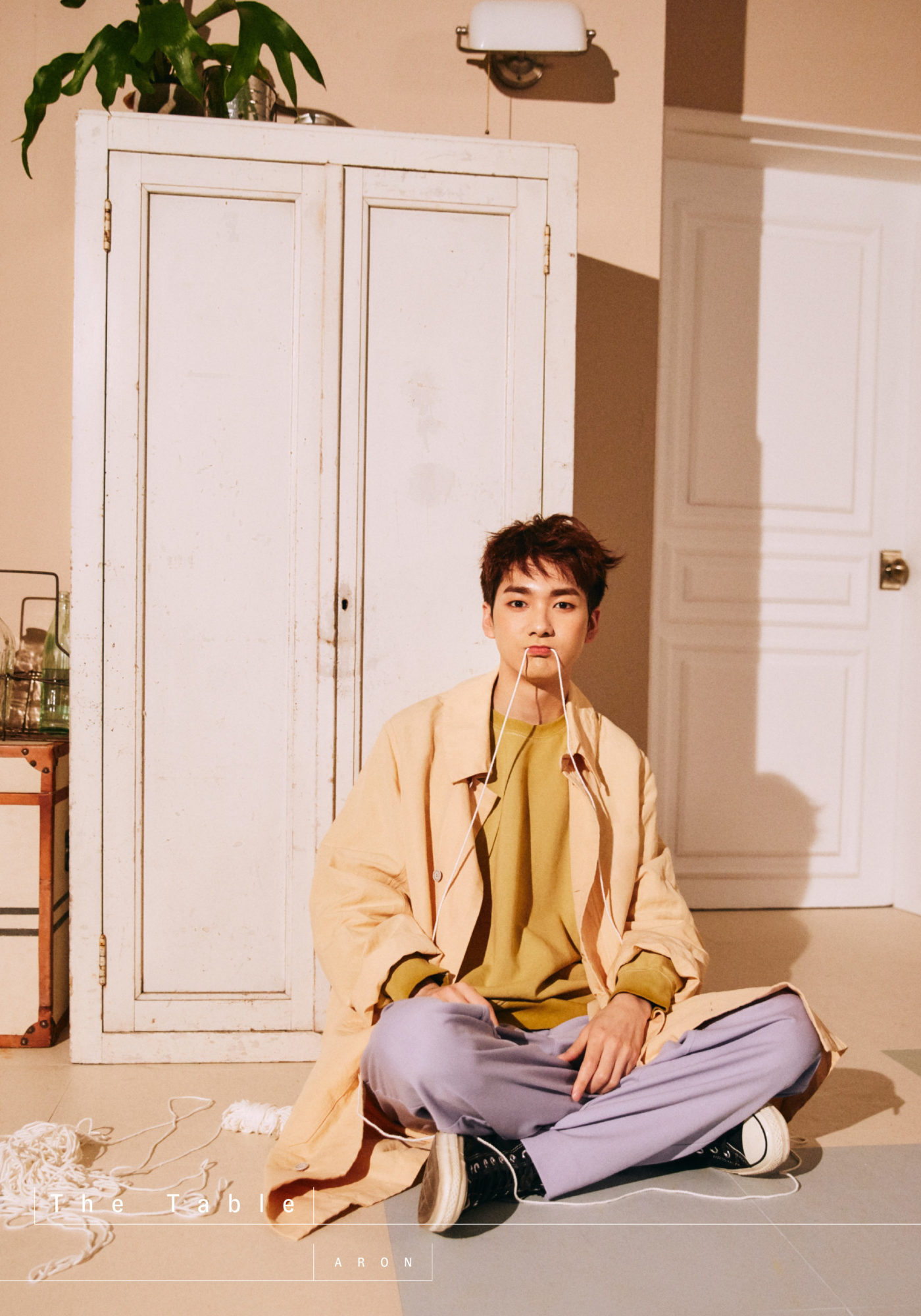 NU'EST Aron The Table Concept