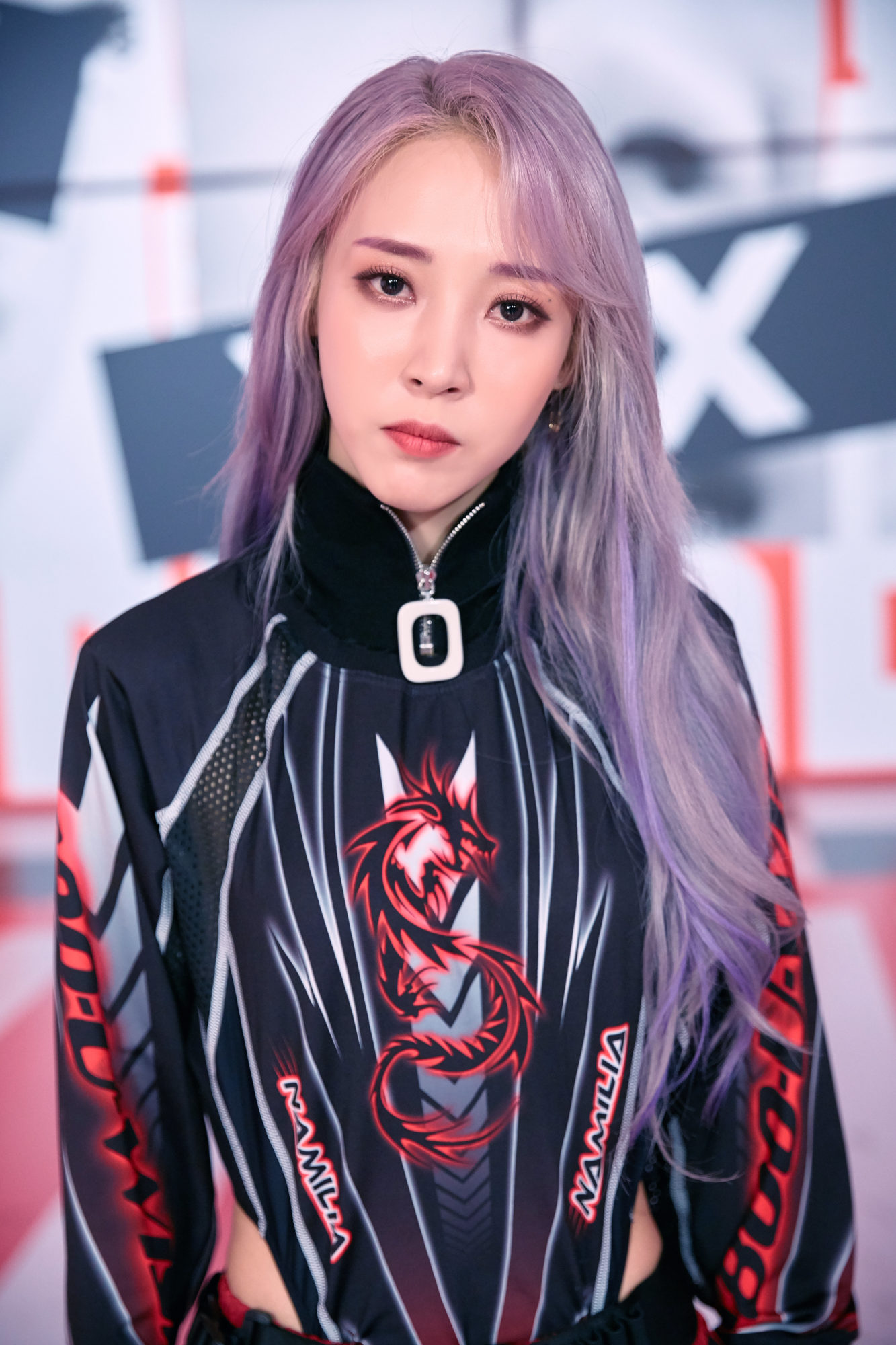 Mamamoo Reality In Black Moonbyul Concept