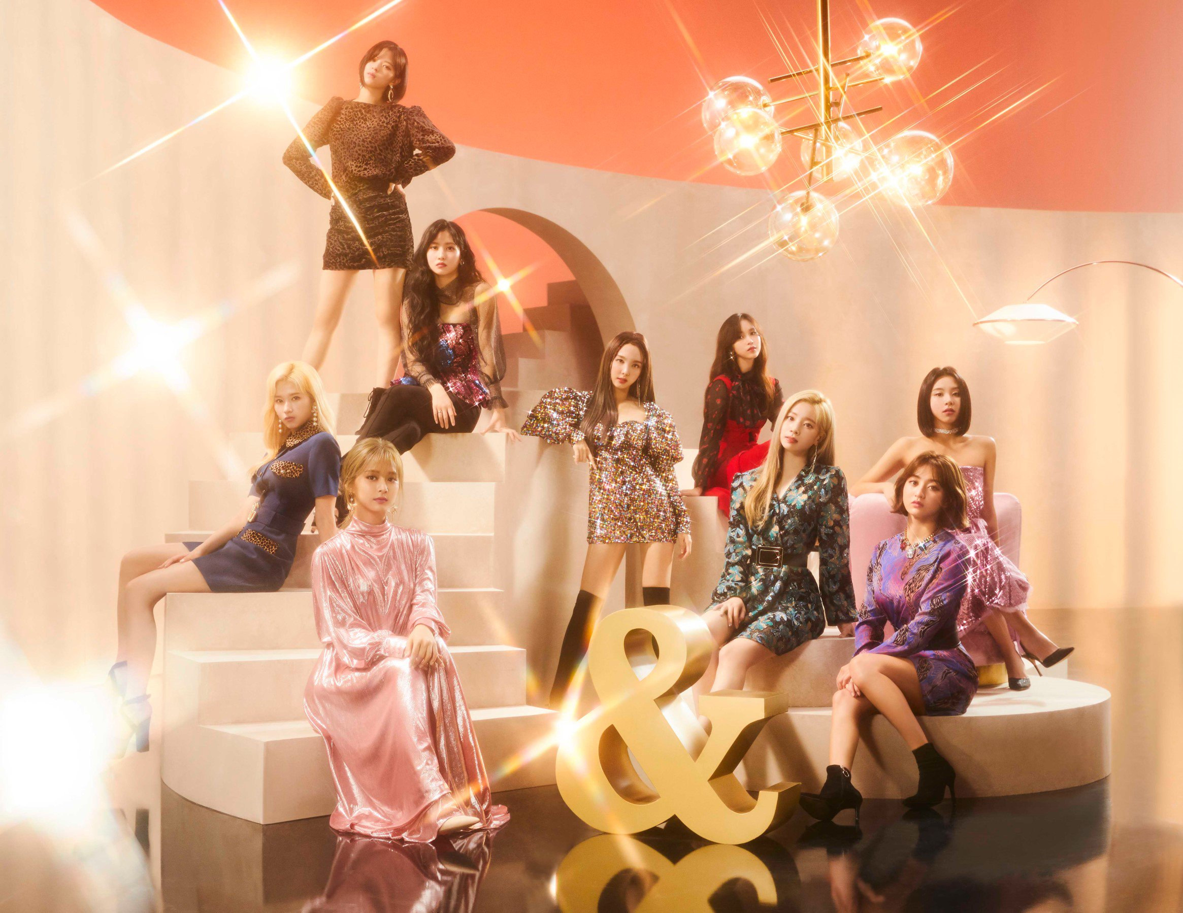 TWICE &TWICE Concept Photos (Nayeon, Jeongyeon, Momo, Sana, Jihyo) HD/HR