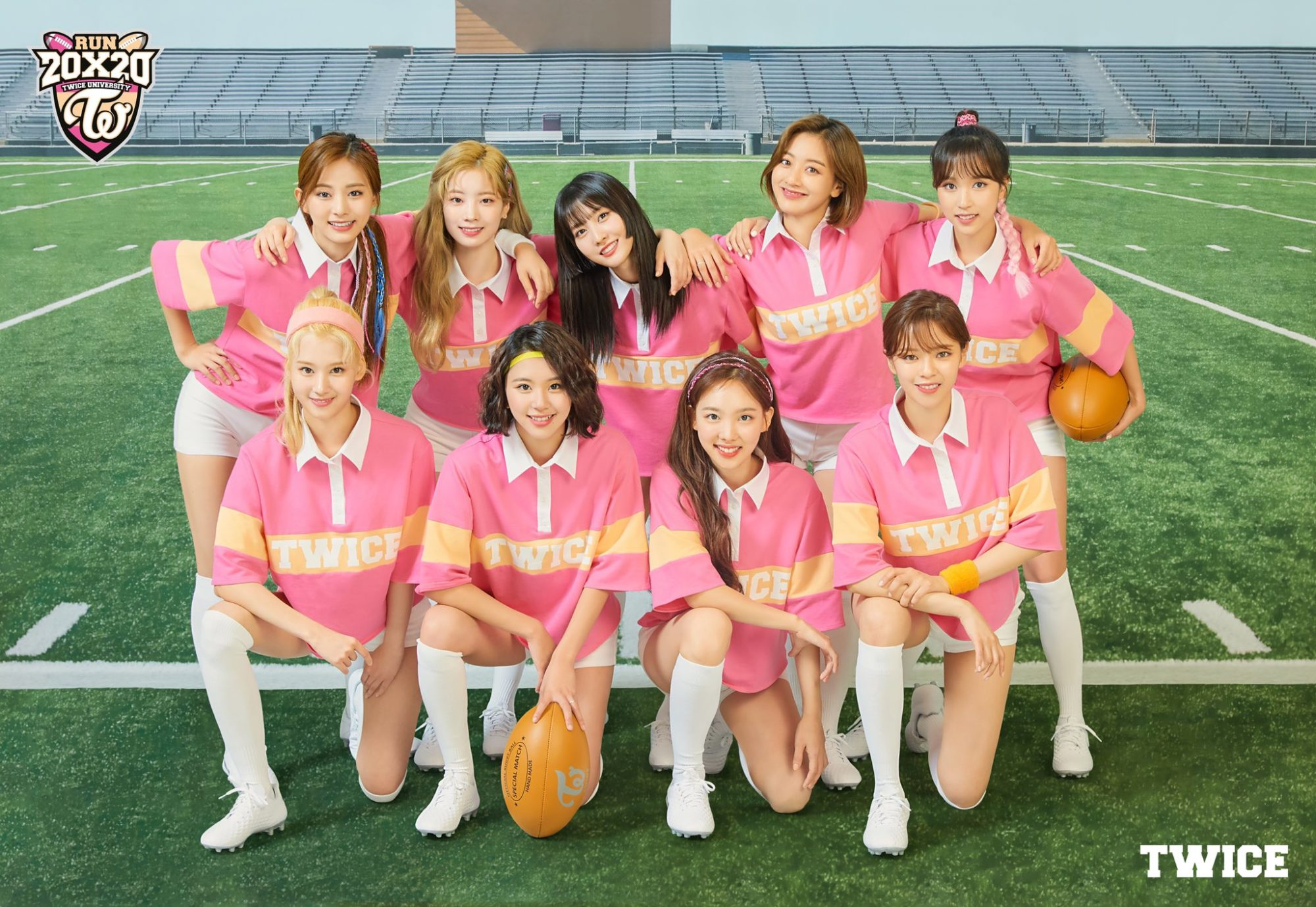 TWICE Season's Greetings 2020 Twice University Rugby Team Group
