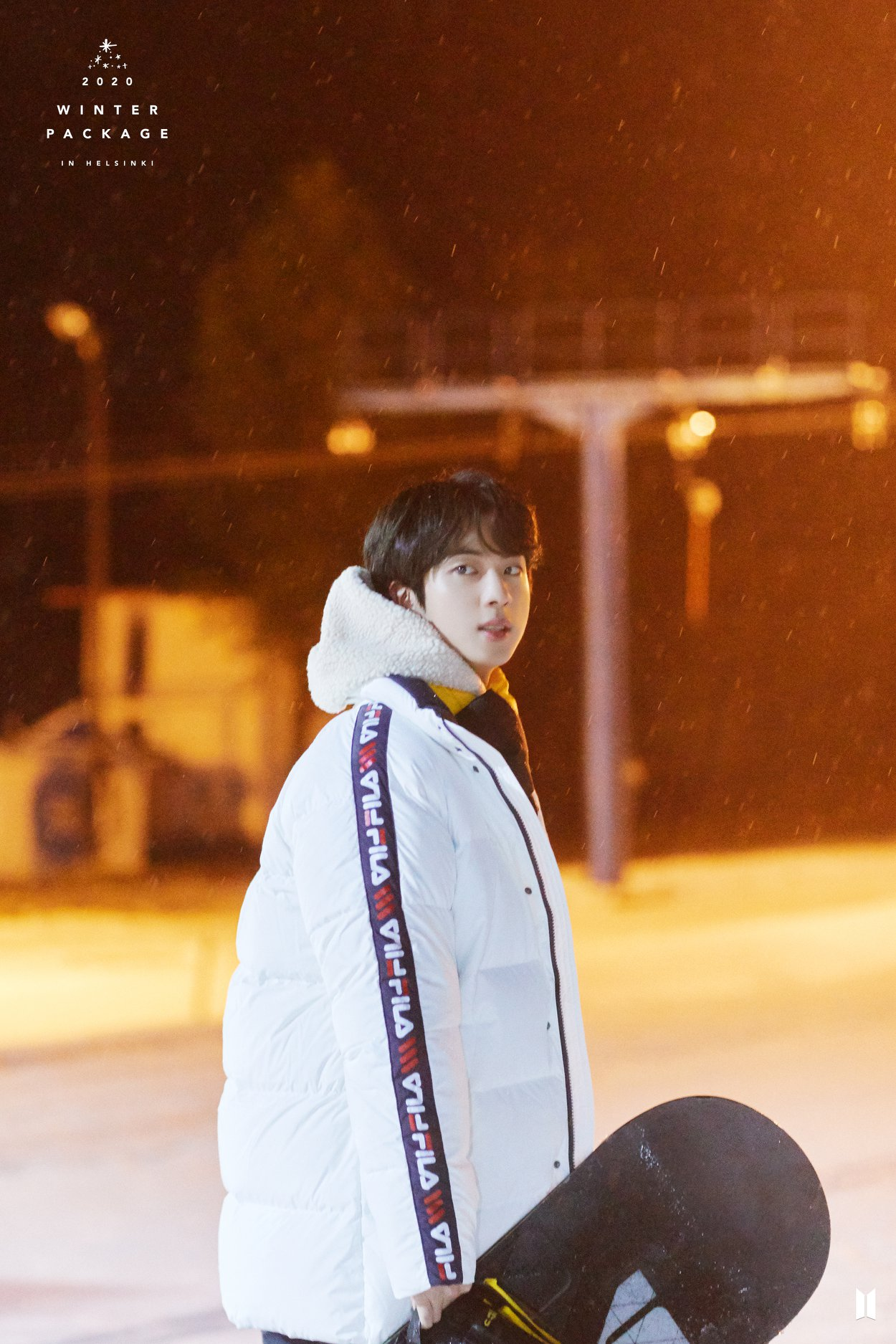BTS Winter Package Preview Jin 1