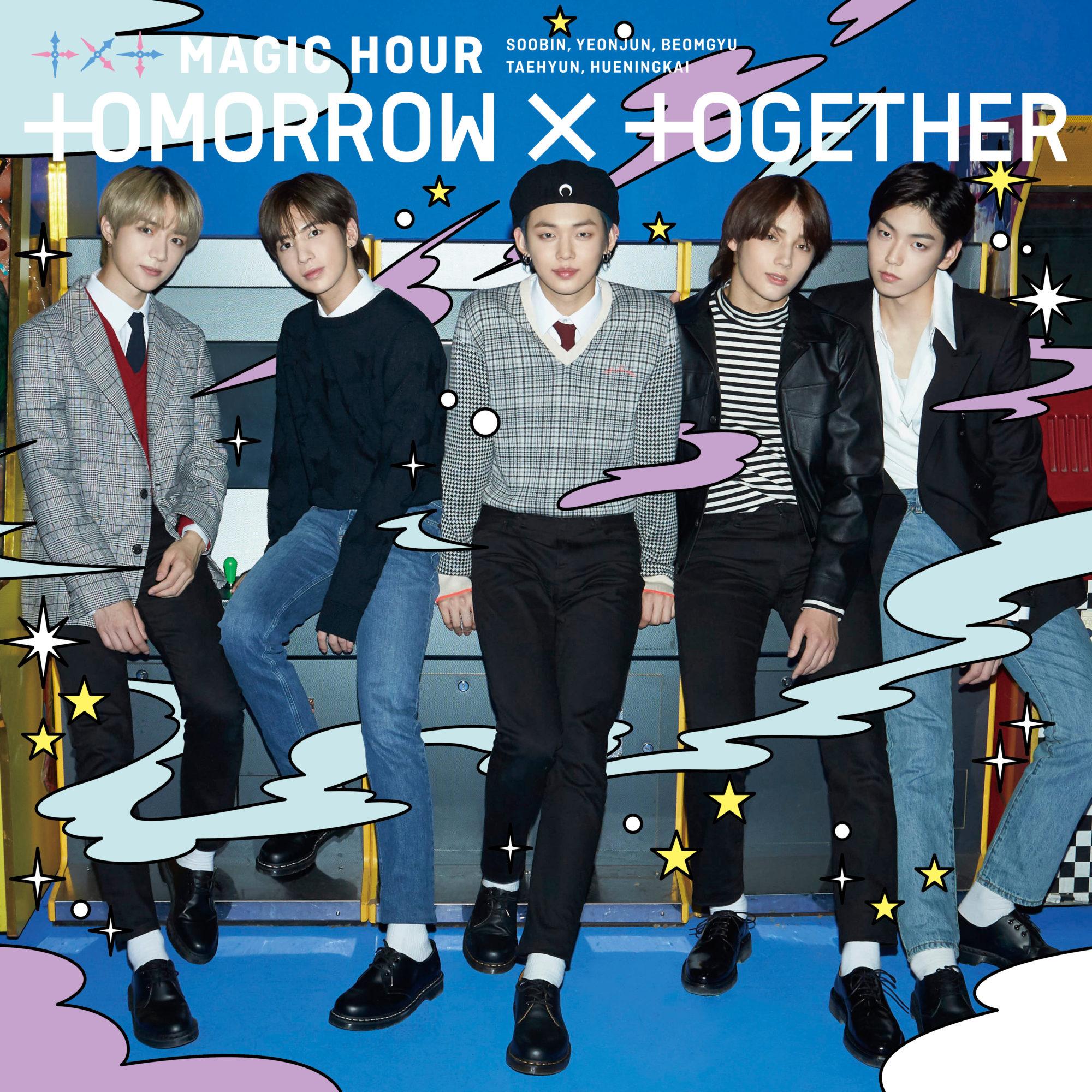 TXT Magic Hour Japan Official Shop Cover
