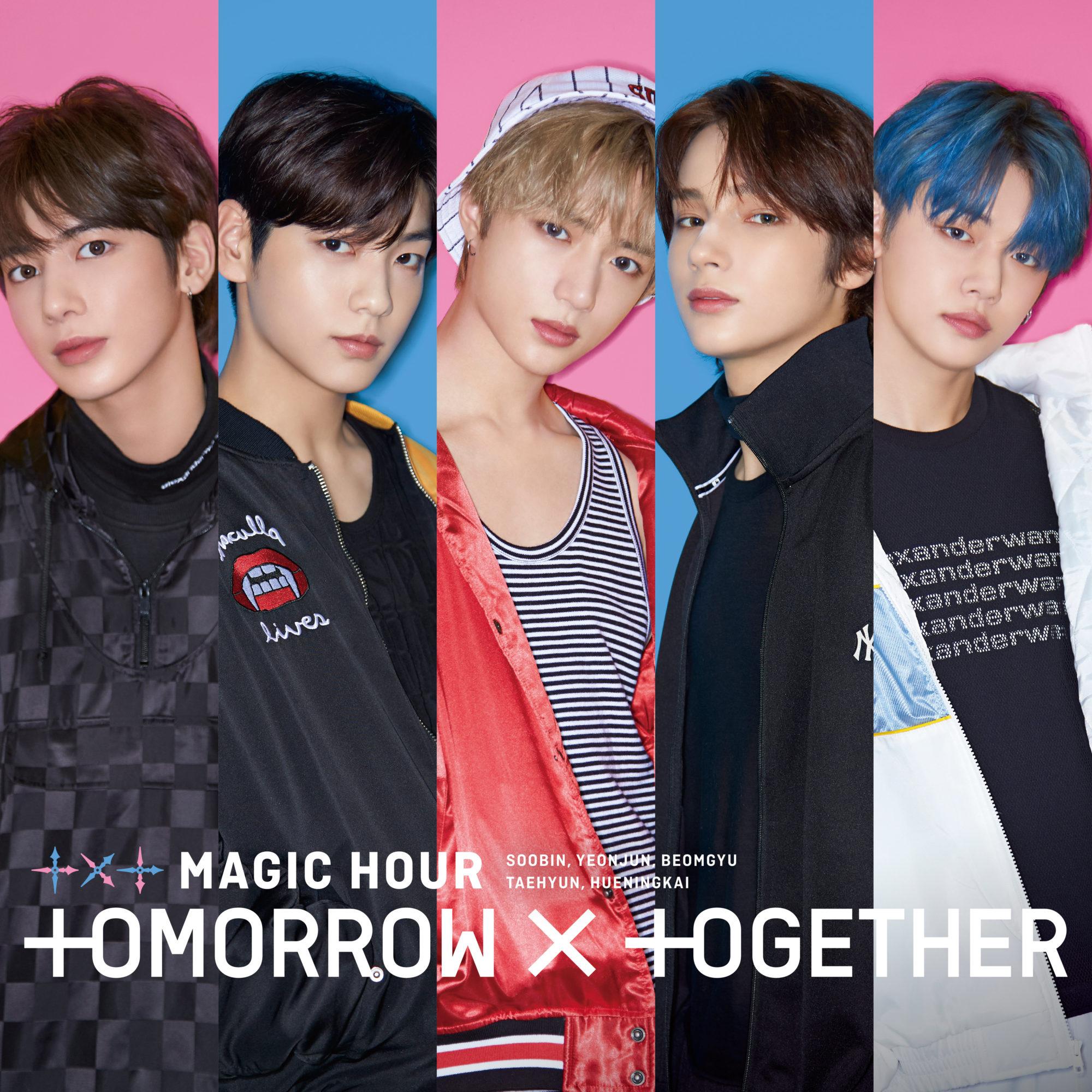 TXT Magic Hour Standard Cover