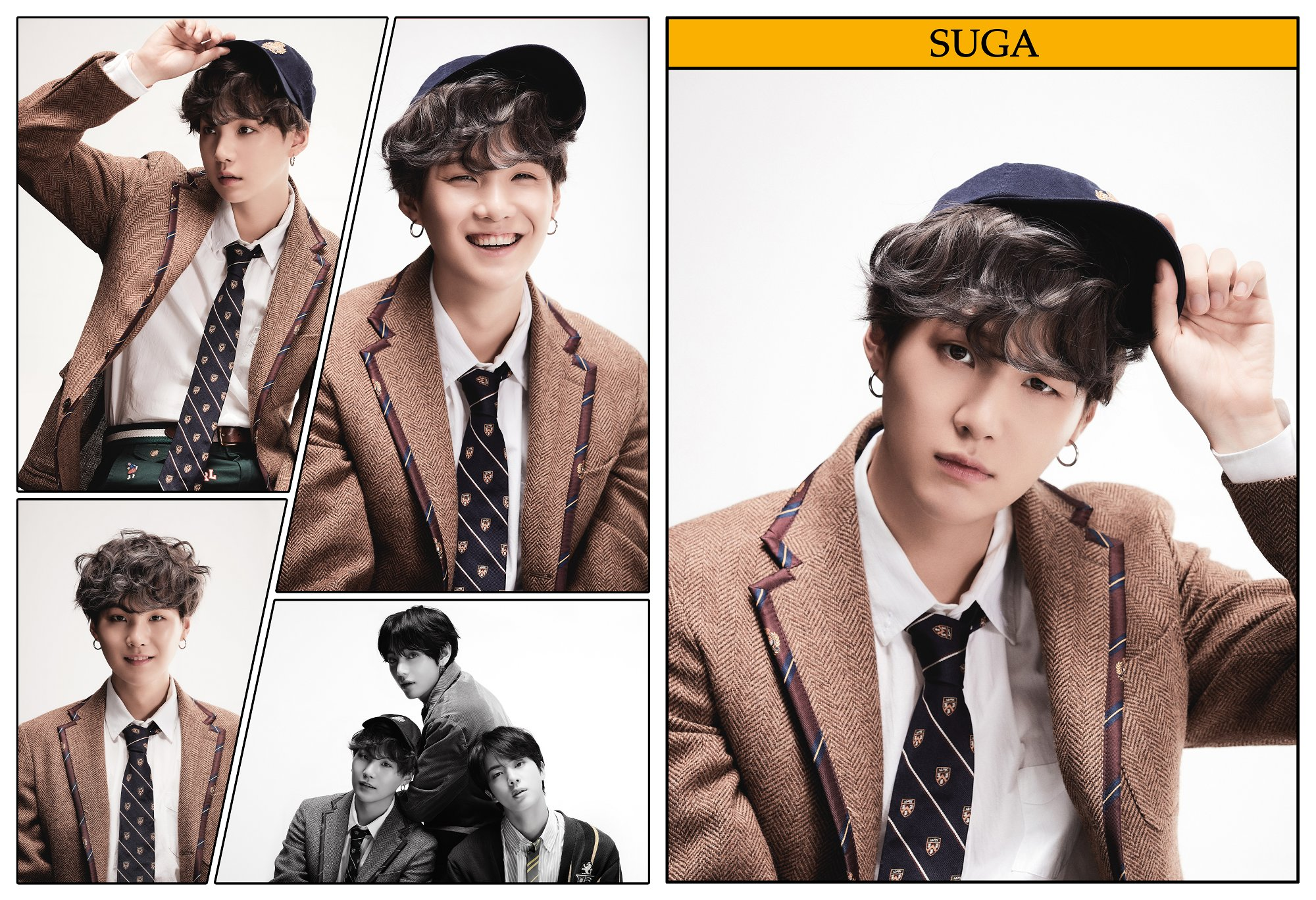 BTS Map Of The Soul 7 Suga