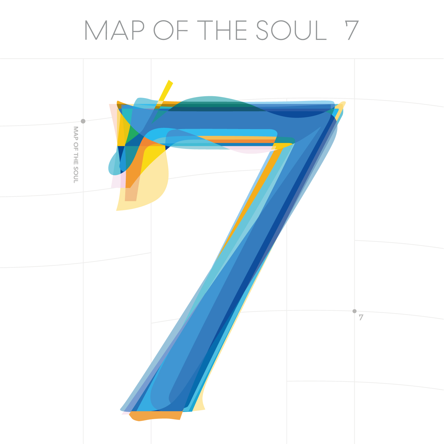 BTS Map Of The Soul 7 Cover