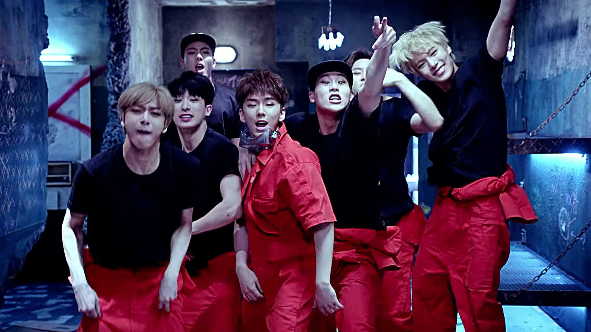 MONSTA X Trespass MV