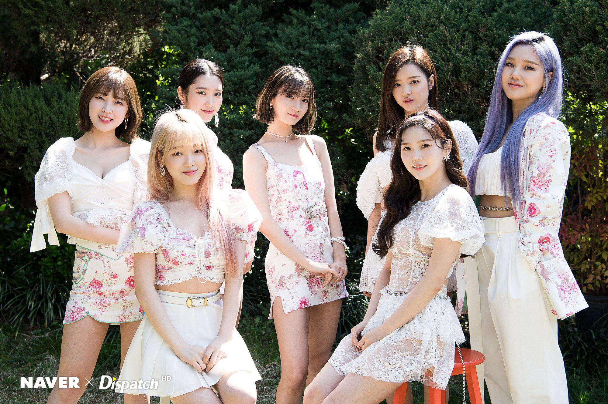 Oh My Girl NONSTOP Naver X Dispatch