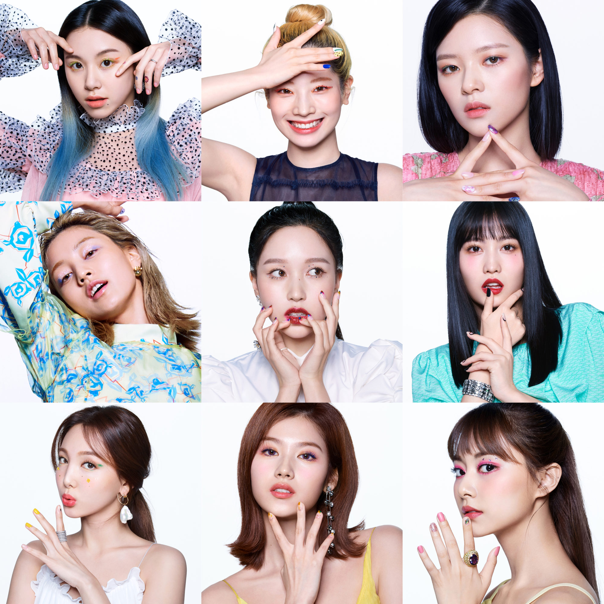 Twice Allure May 2020 Members