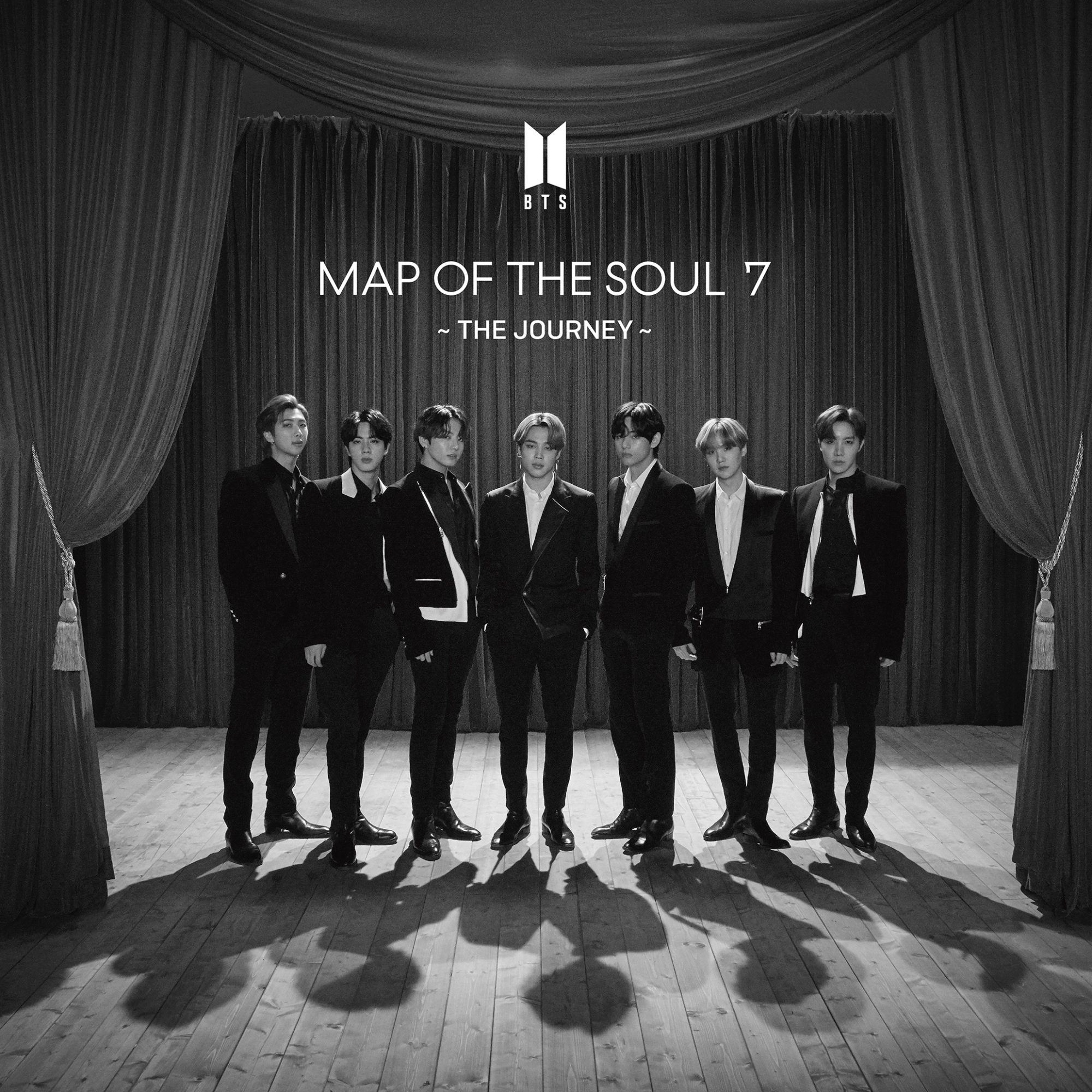 BTS Map Of The Soul 7: The Journey 7 Eleven Cover