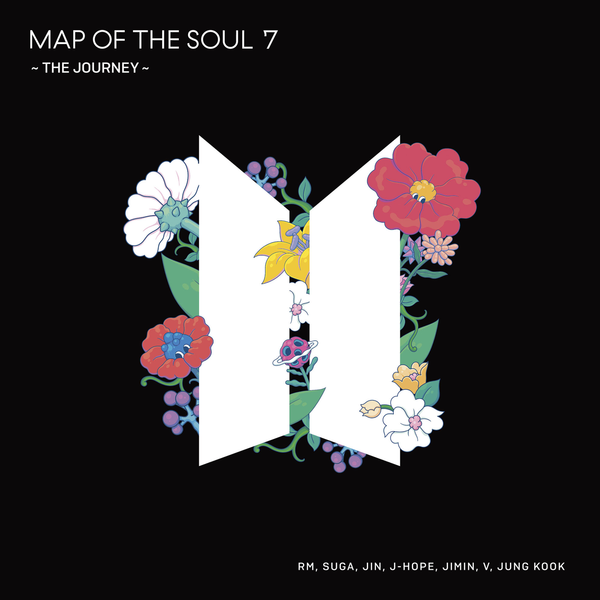 BTS Map Of The Soul 7: The Journey Normal Cover
