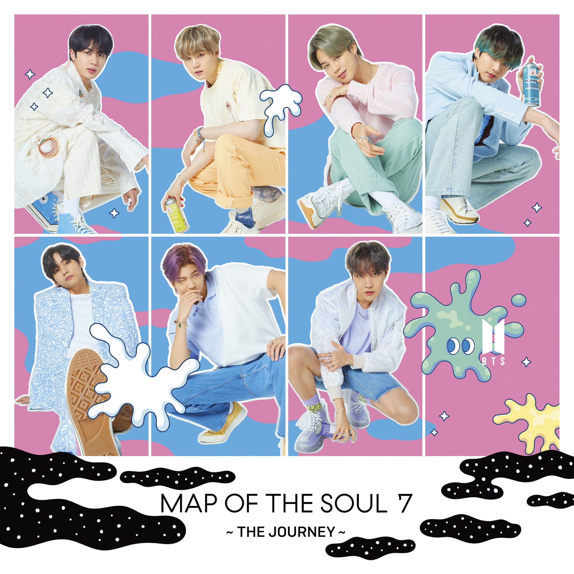 BTS Map Of The Soul 7: The Journey Universal Music Store
